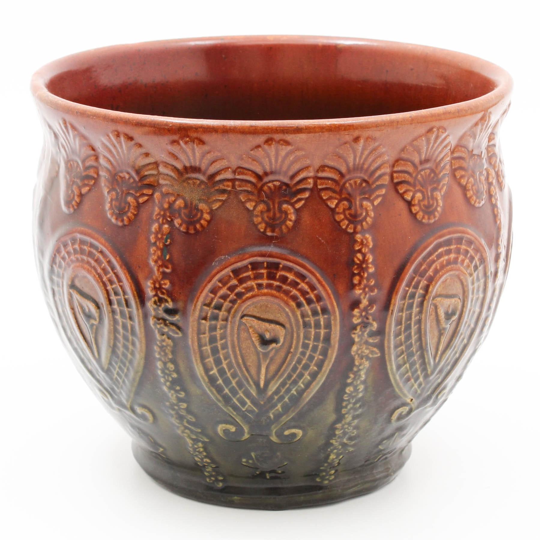 Blended Glaze Ceramic Planter