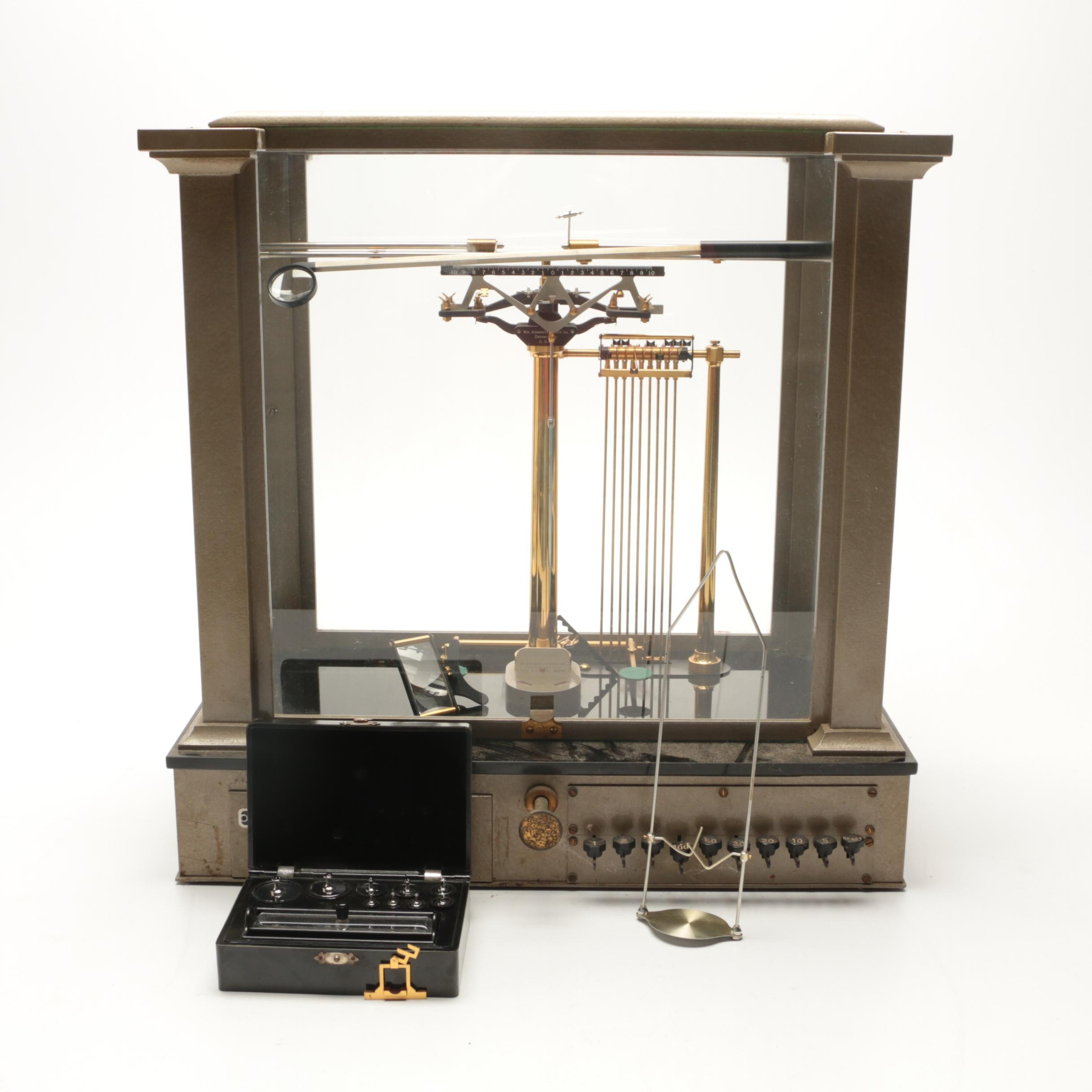 Vintage Analytical Scale