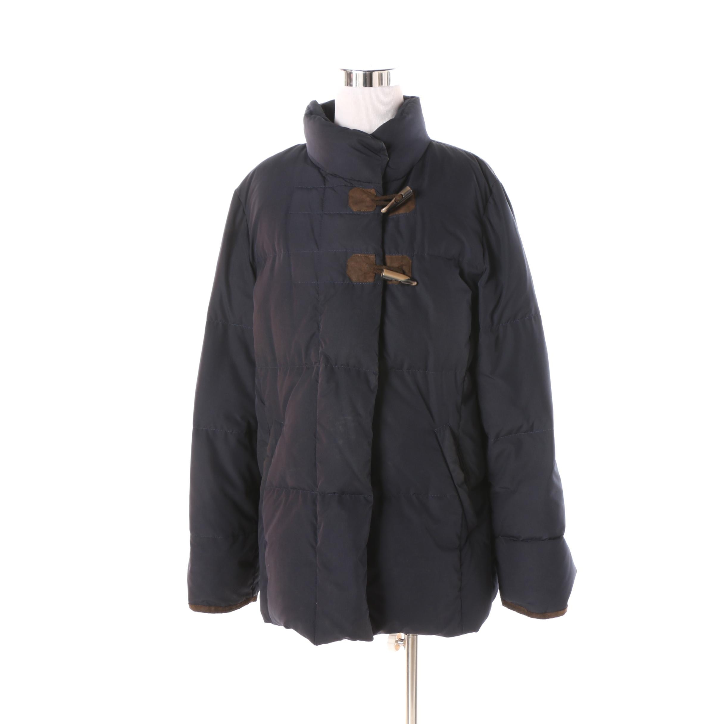 Women's Schneiders of Salzburg Navy Blue Puffer Jacket