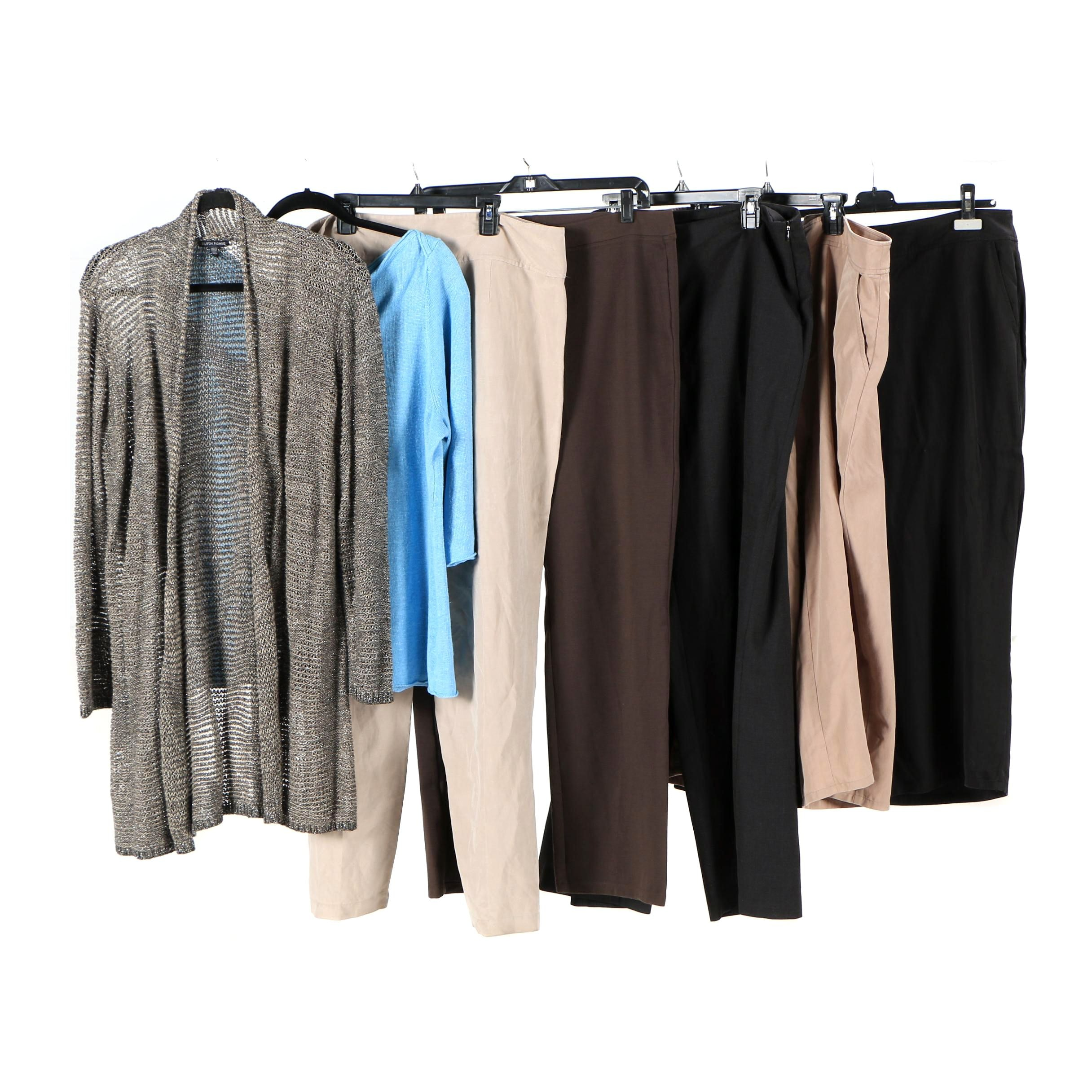 Eileen Fisher Pants and Sweaters