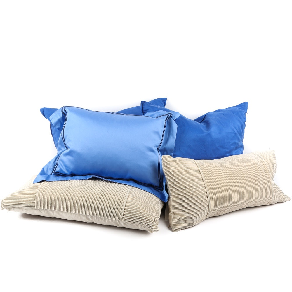 Decorative Pillows Featuring Donna Karan and DKNY