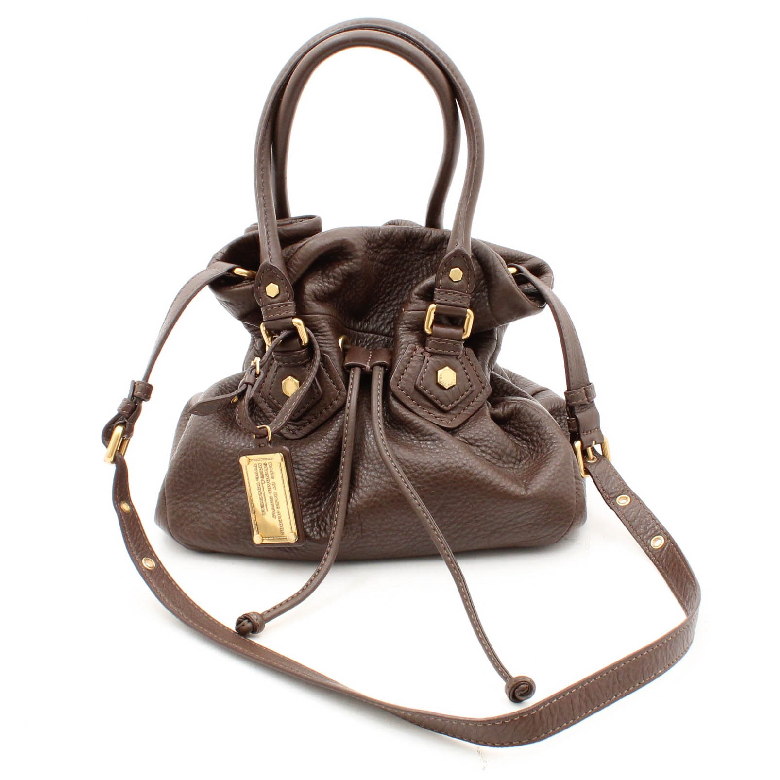 Marc by Marc Jacobs Embossed Leather Hobo