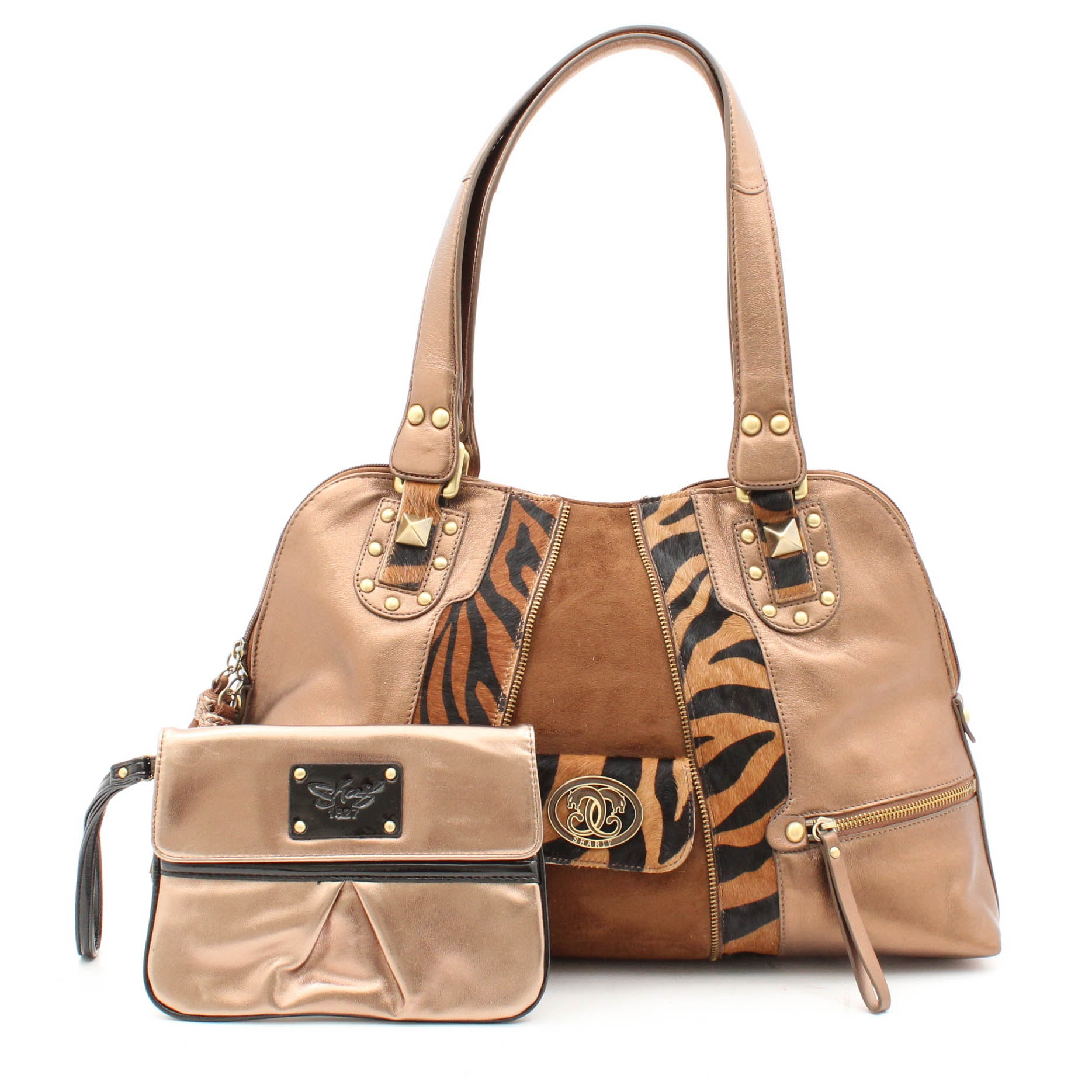 Originals by Sharif Leather and Calf Hair Tote