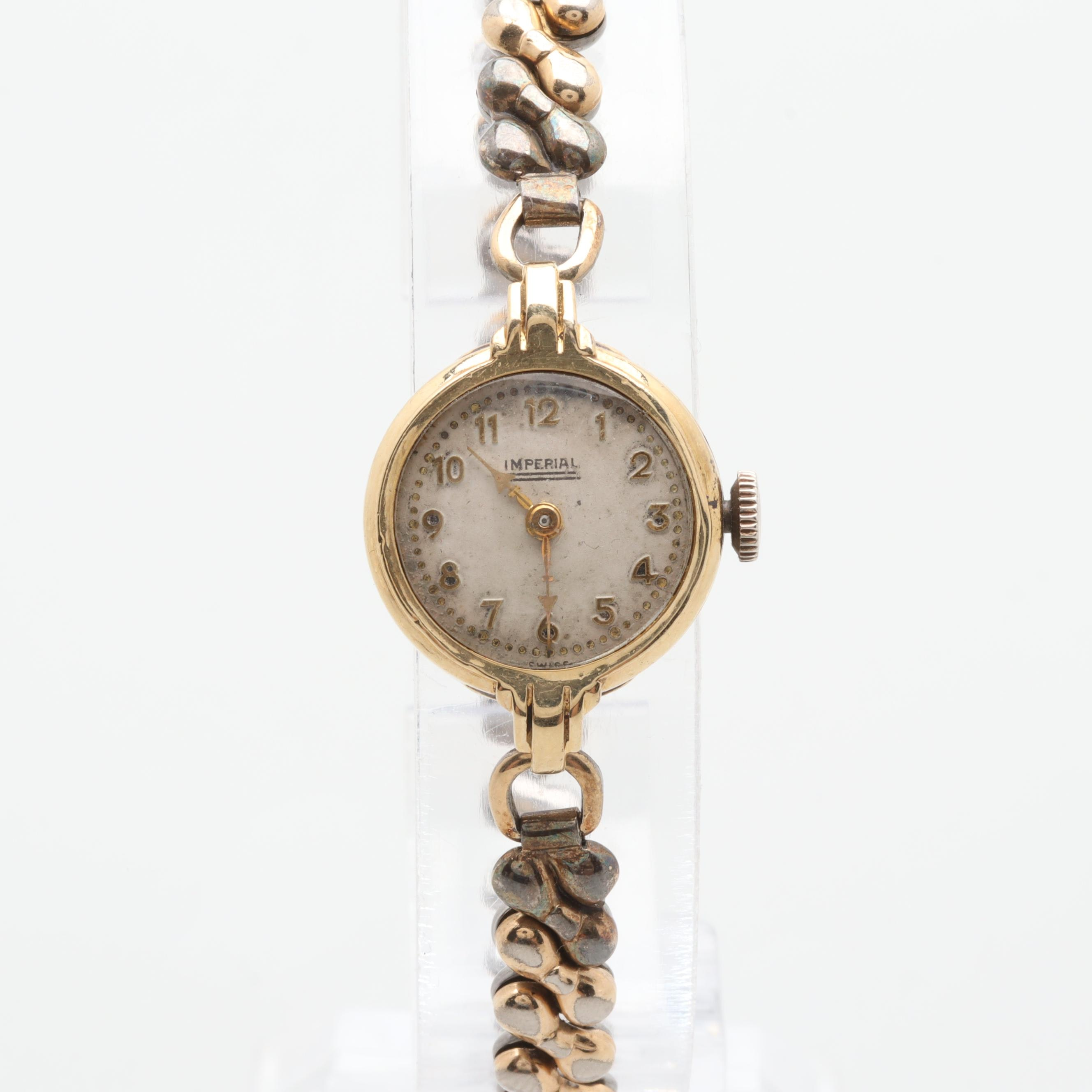 Imperial 14K Yellow Gold Expansion Wristwatch
