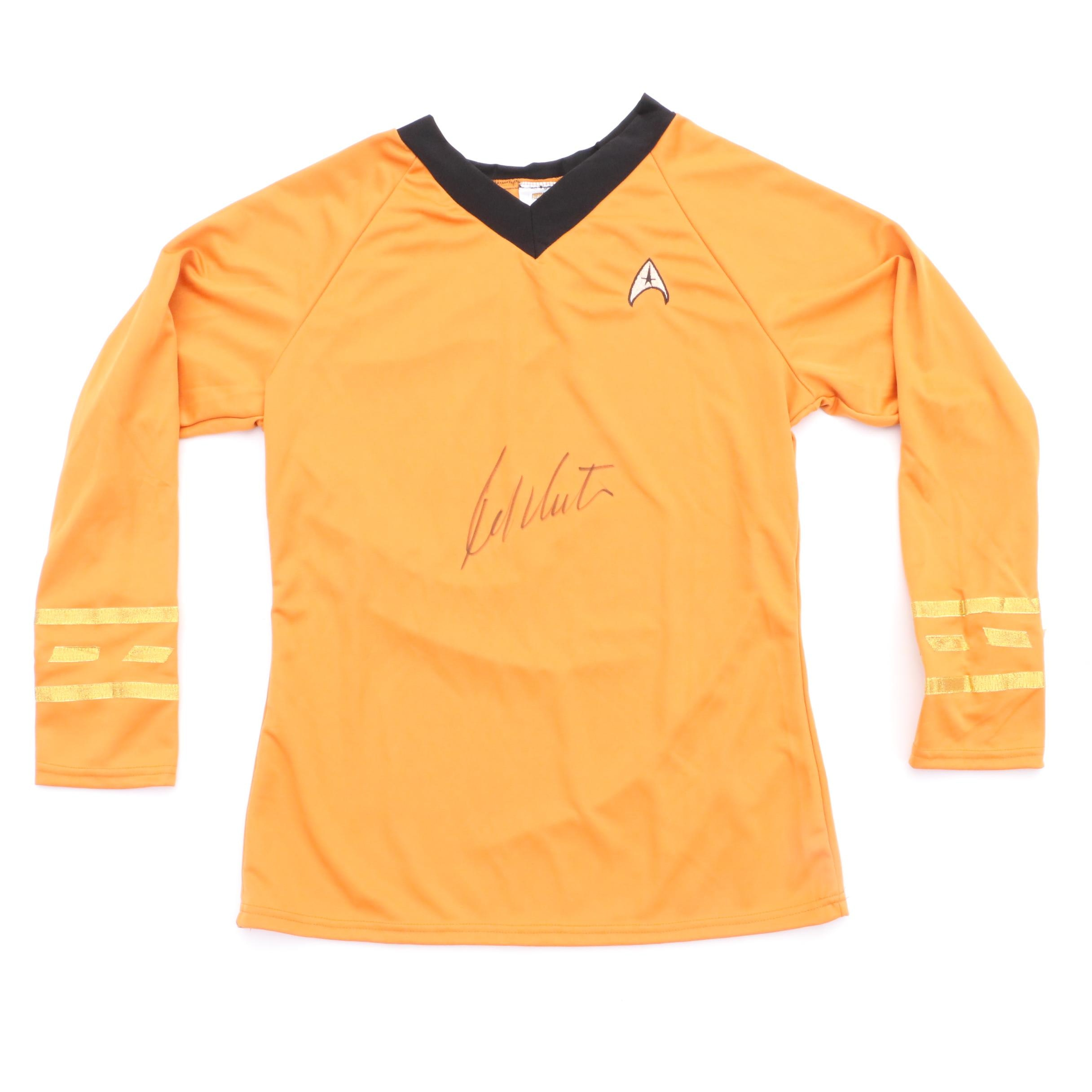 "William Shatner ""Capt. Kirk"" Signed ""Star Trek""  Style Shirt COA"