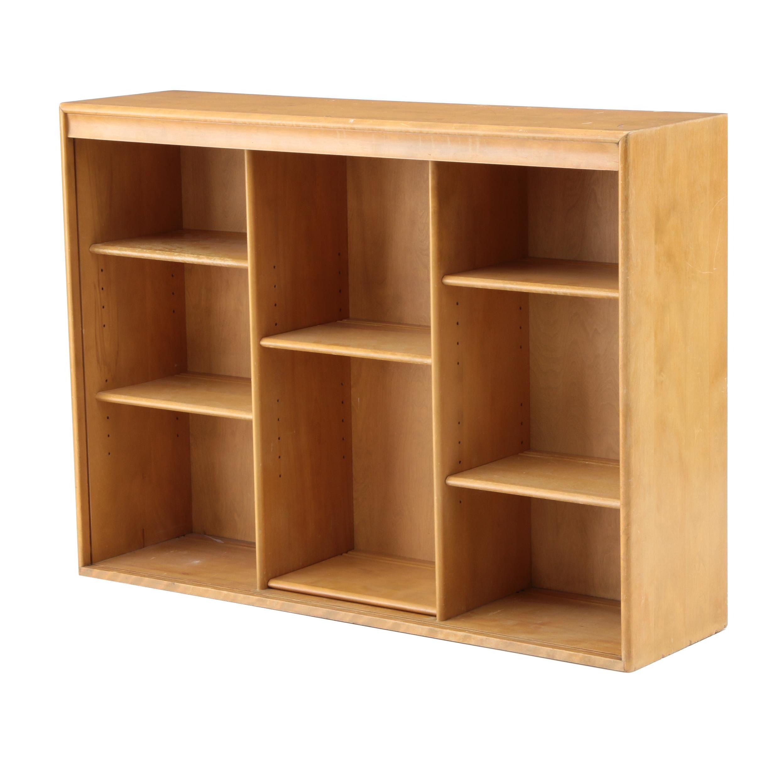 Mid Century Modern Heywood Wakefield Maple Bookcase Top