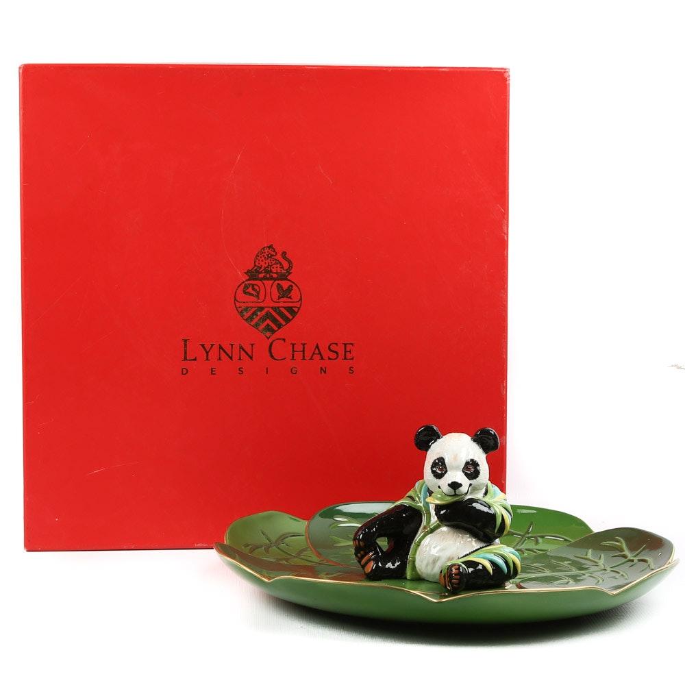 "Lynn Chase ""Panda Perfect"" Serving Platter"