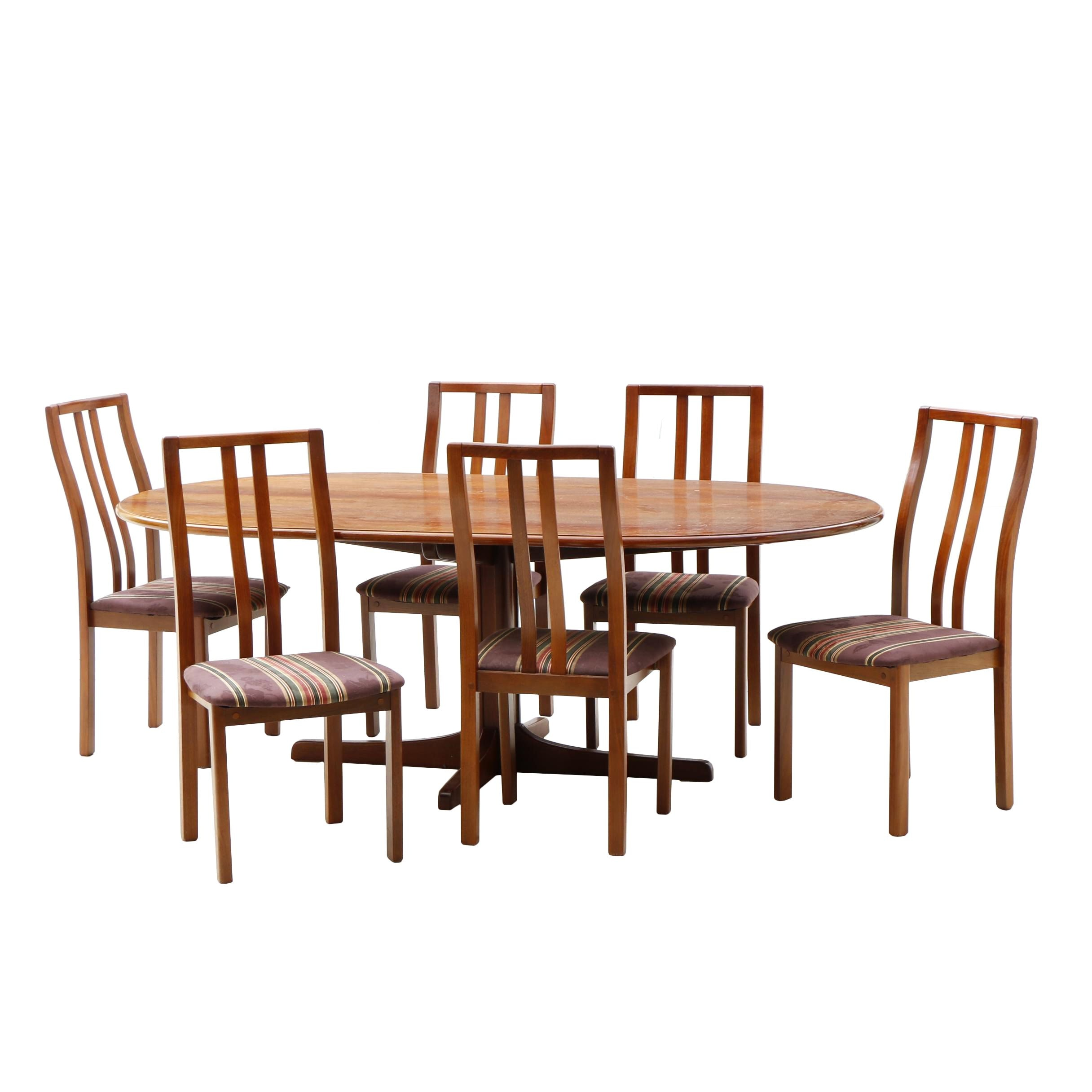 Contemporary Jarrah Wood Dining Set by BVR
