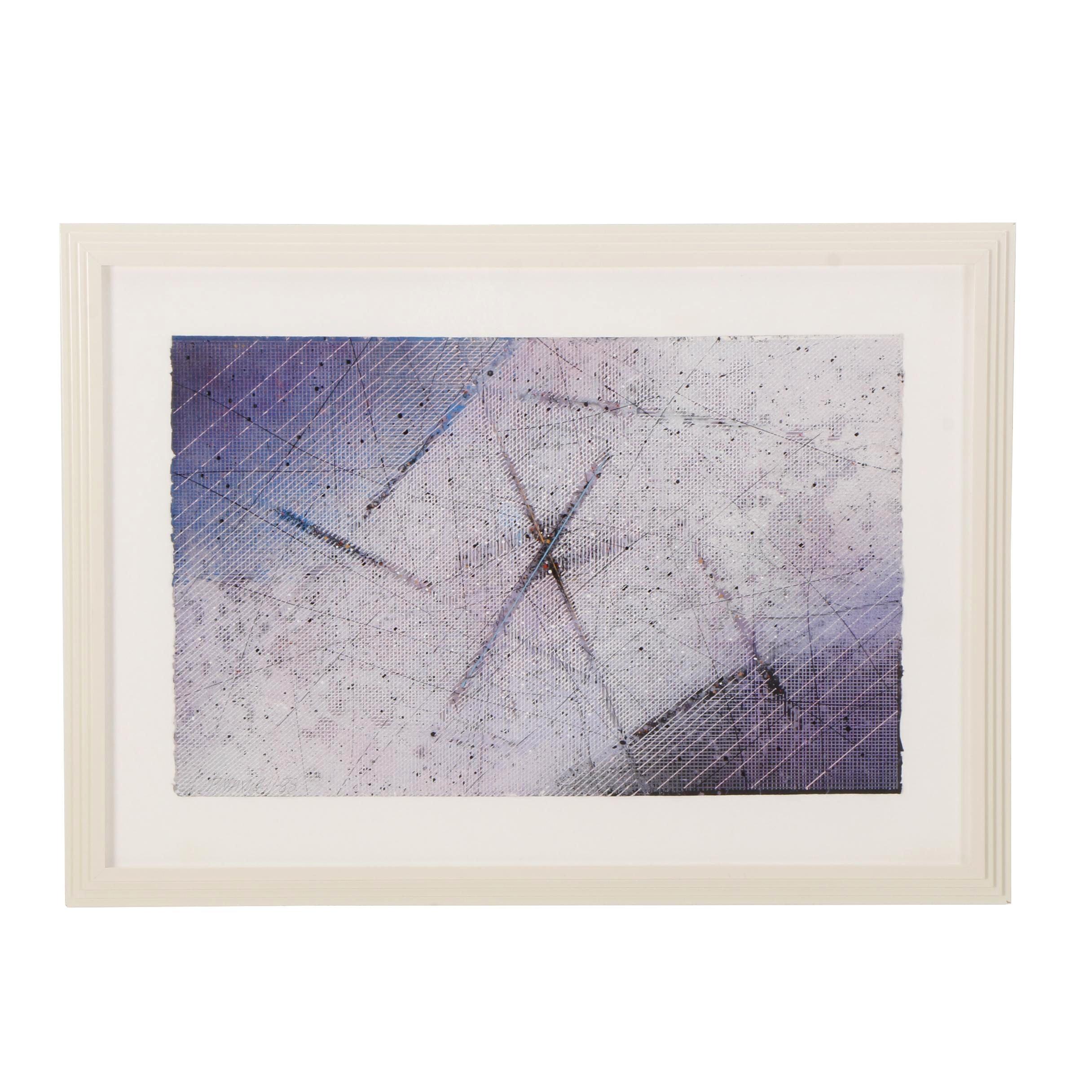 Paul Maxwell Geometric Print