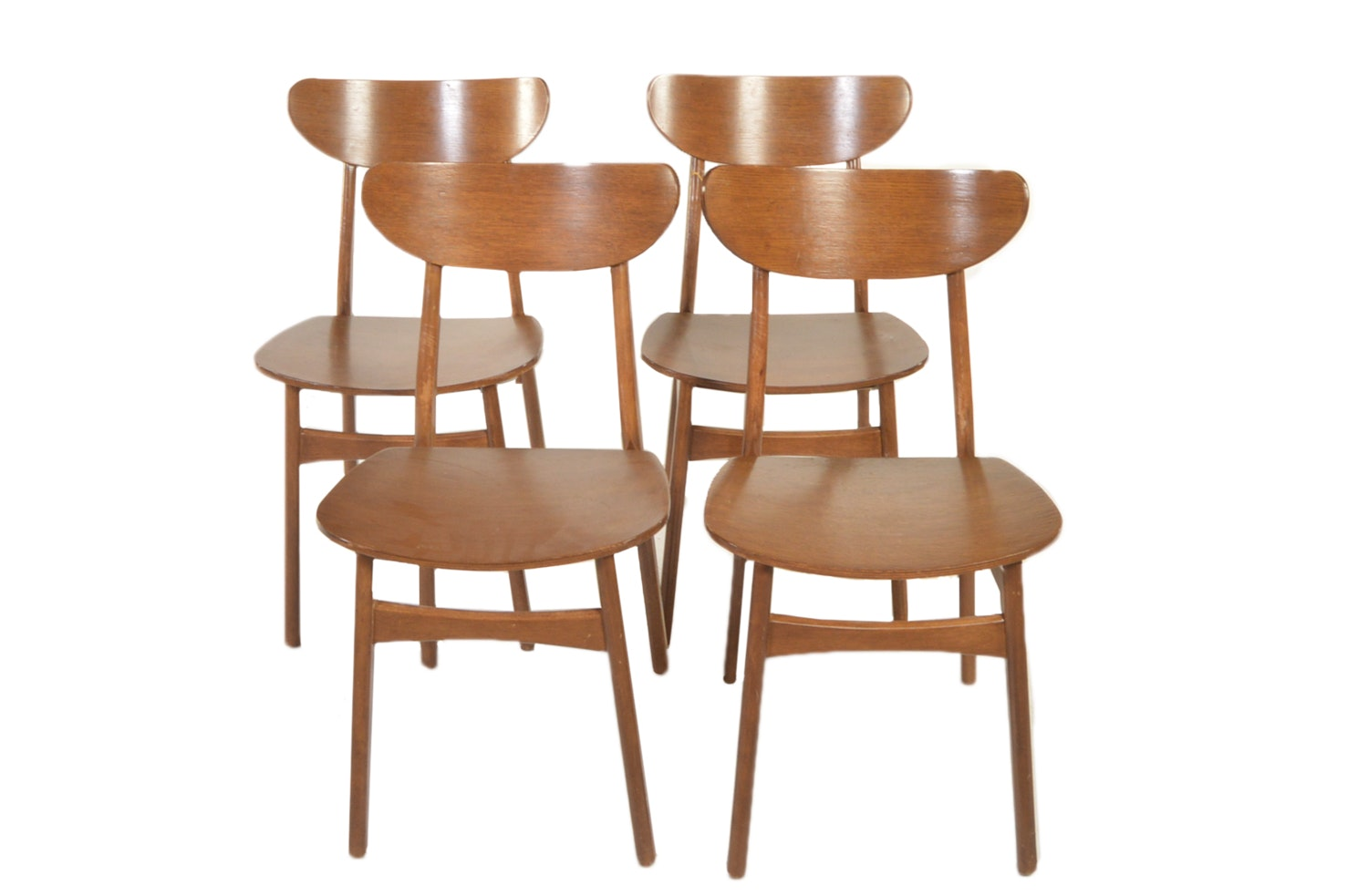 Mid Century Modern Style Side Chairs by West Elm