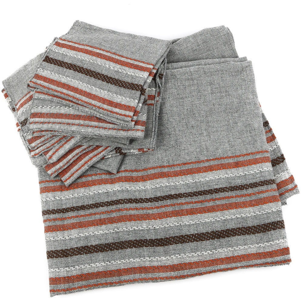 Woolen Tablecloth and Napkins