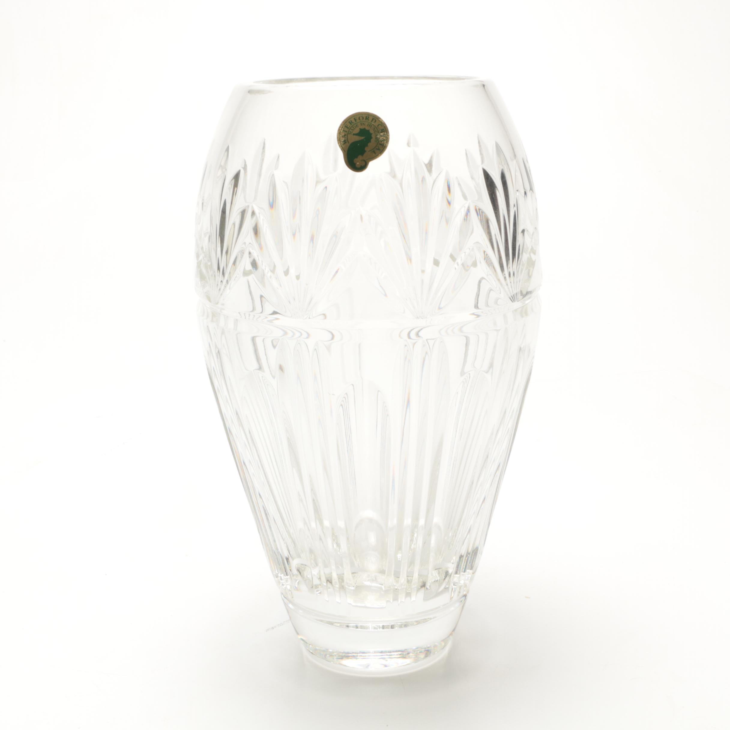 """Waterford Crystal """"Bantry"""" Vase"""