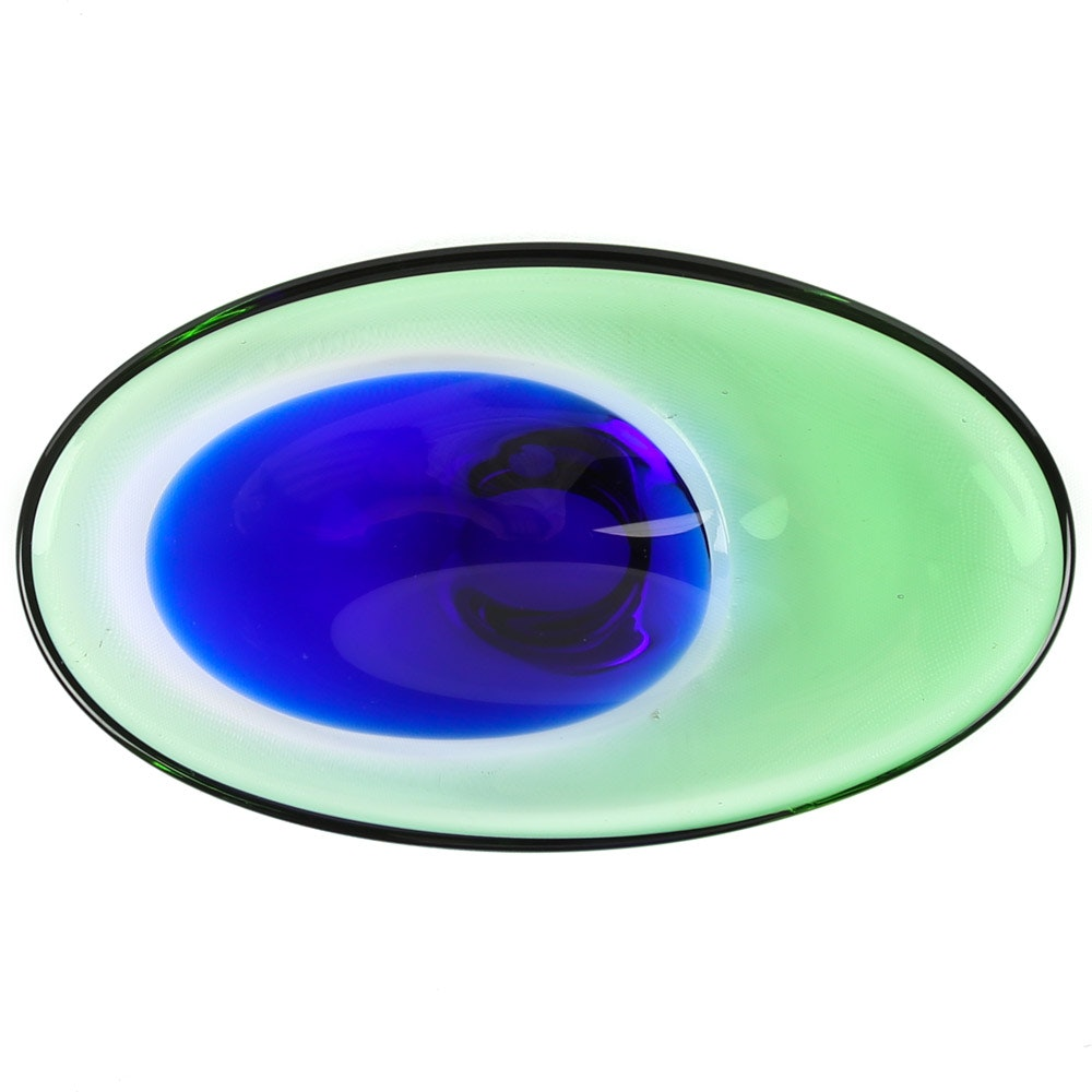 Beránek Art Glass Bowl