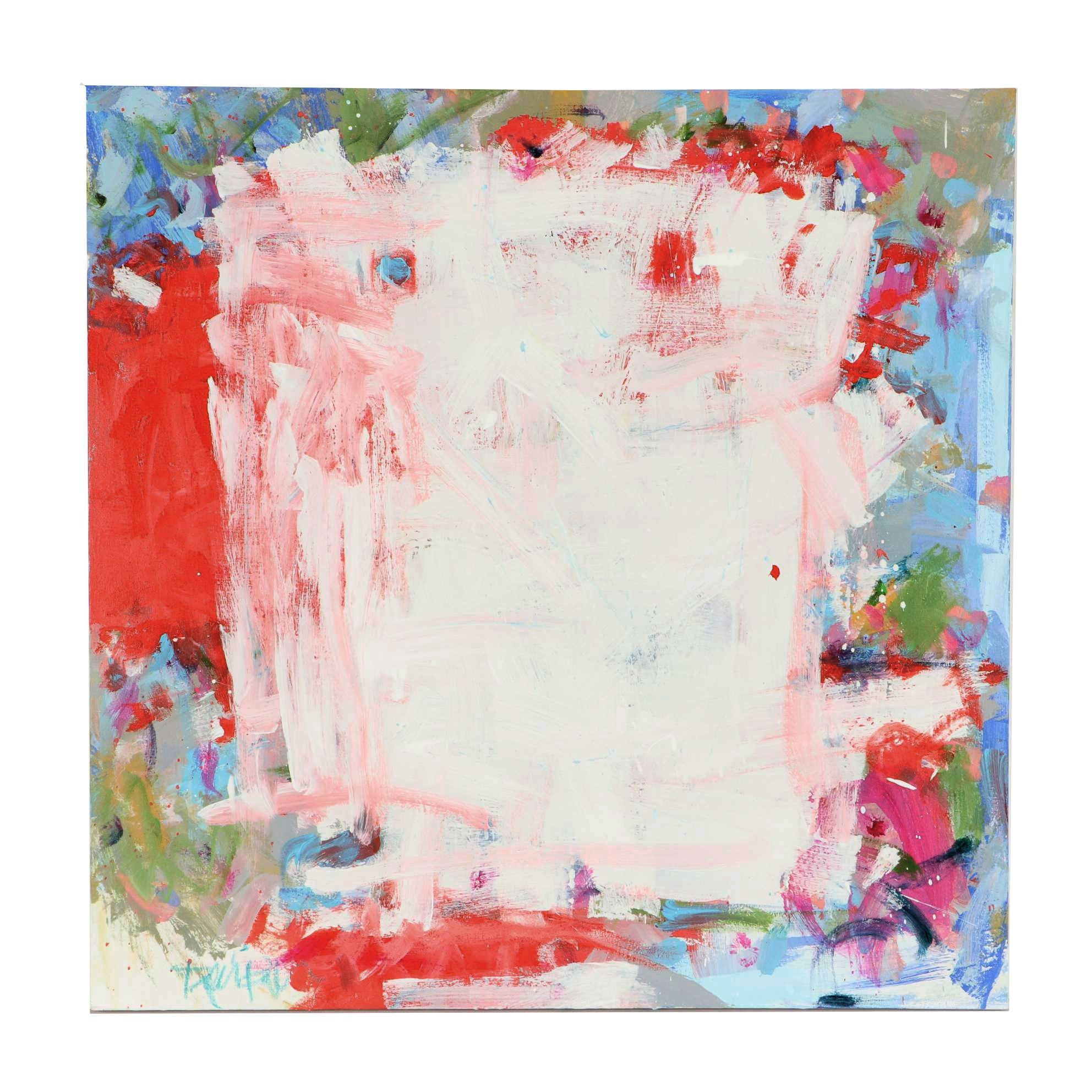 Robbie Kemper Abstract Acrylic Painting