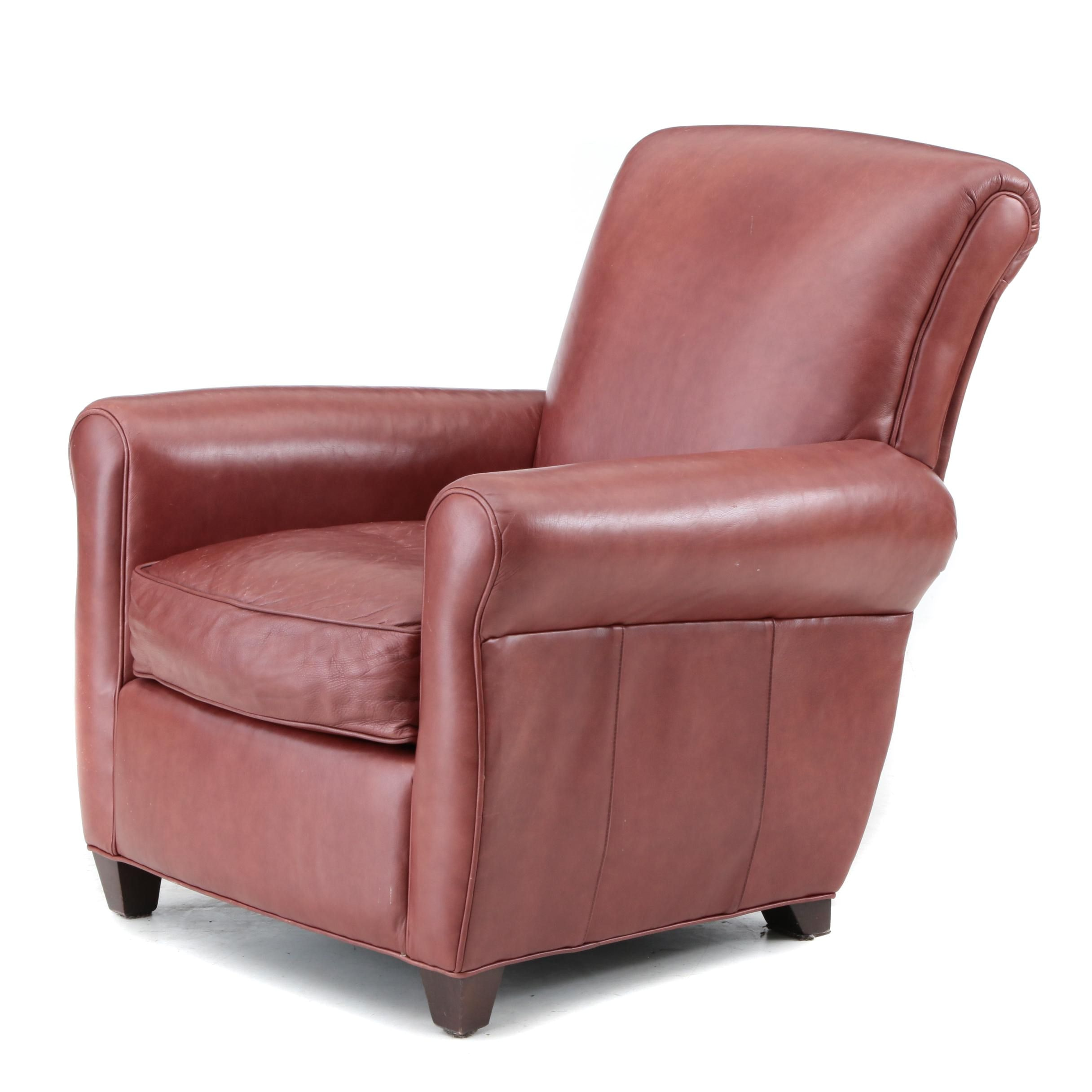 Leather Arm Chair by McCreary Modern Inc.