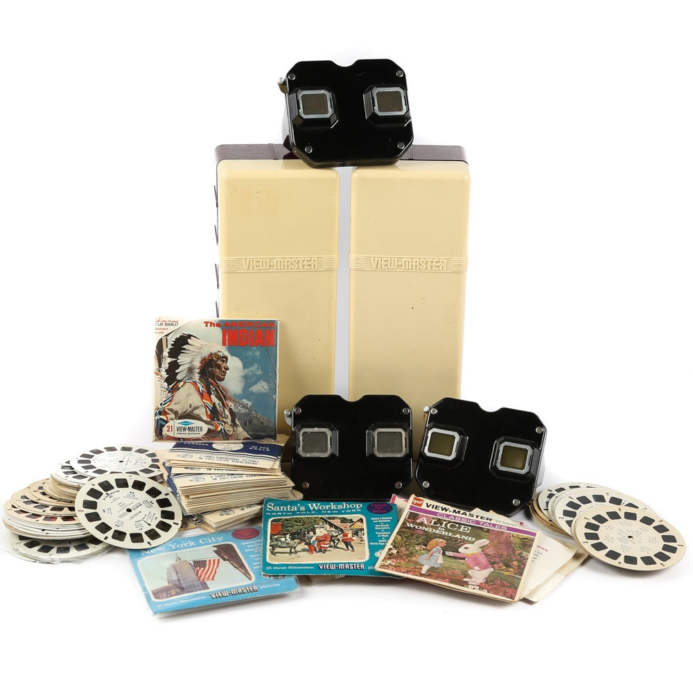 Vintage Sawyer's View-Masters and Reel Collection
