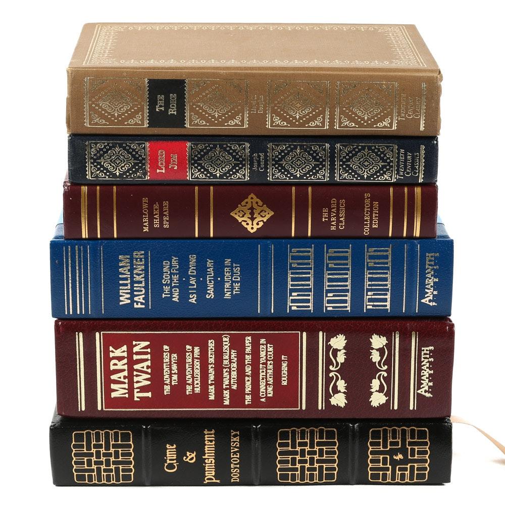 "Easton Press ""Crime & Punishment"" and More Classic Fiction"