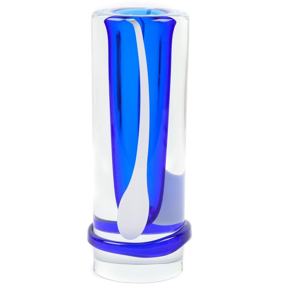 Beránek Art Glass Vase
