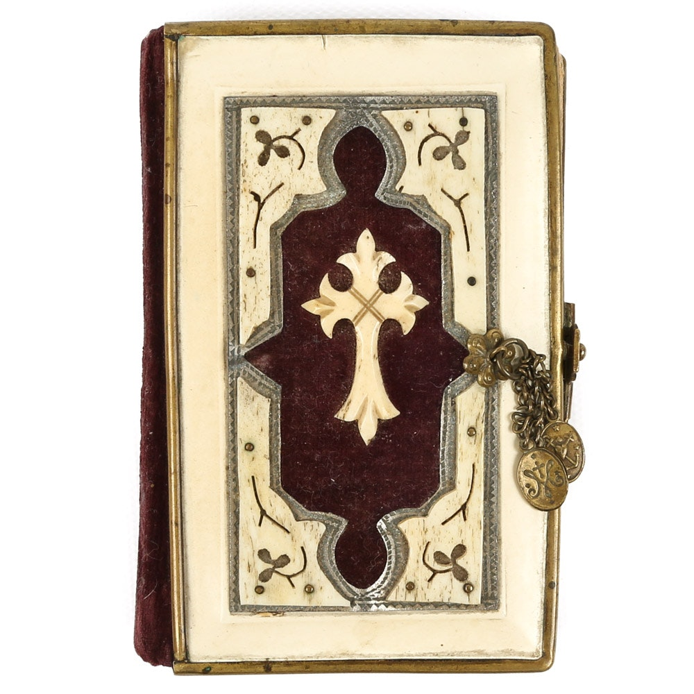 Antique German Prayer Book