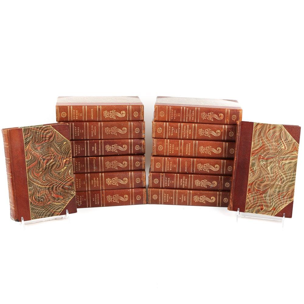 "Antique ""The Historical Romances of Georg Ebers"" Multi-Volume Set"