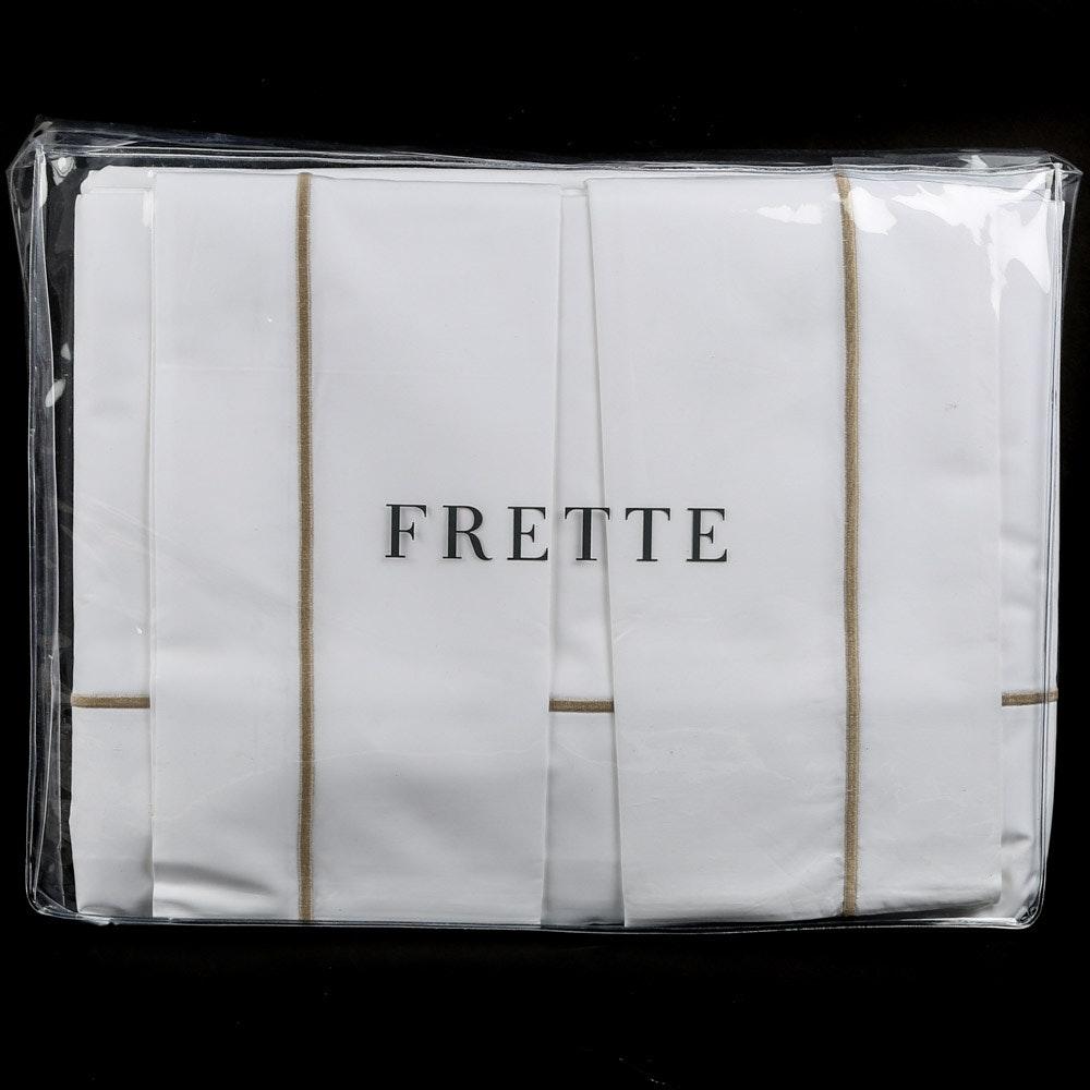 "Frette 1860 ""Bourdon"" Queen-Size Sheet Set"