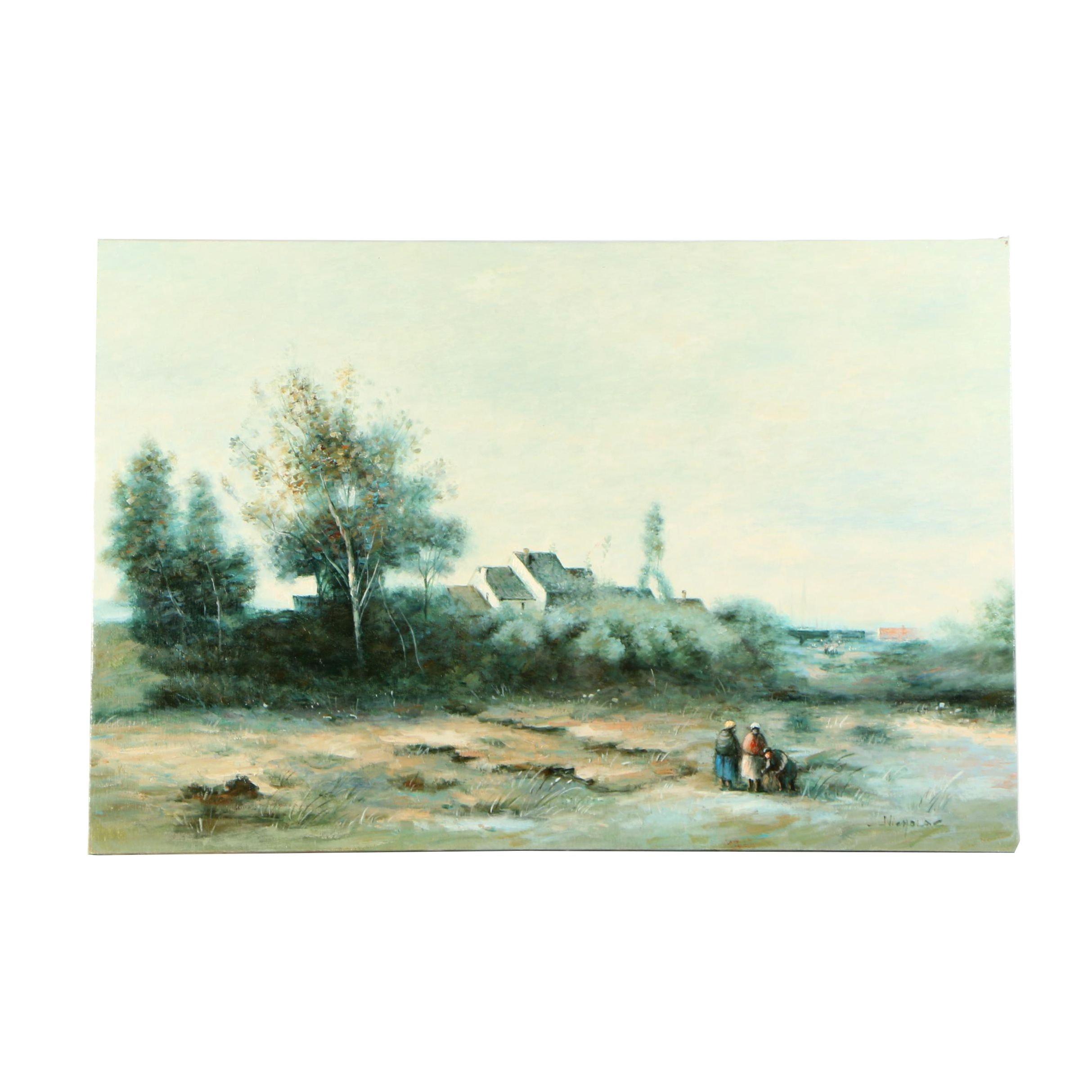 Nicholas Landscape Oil Painting