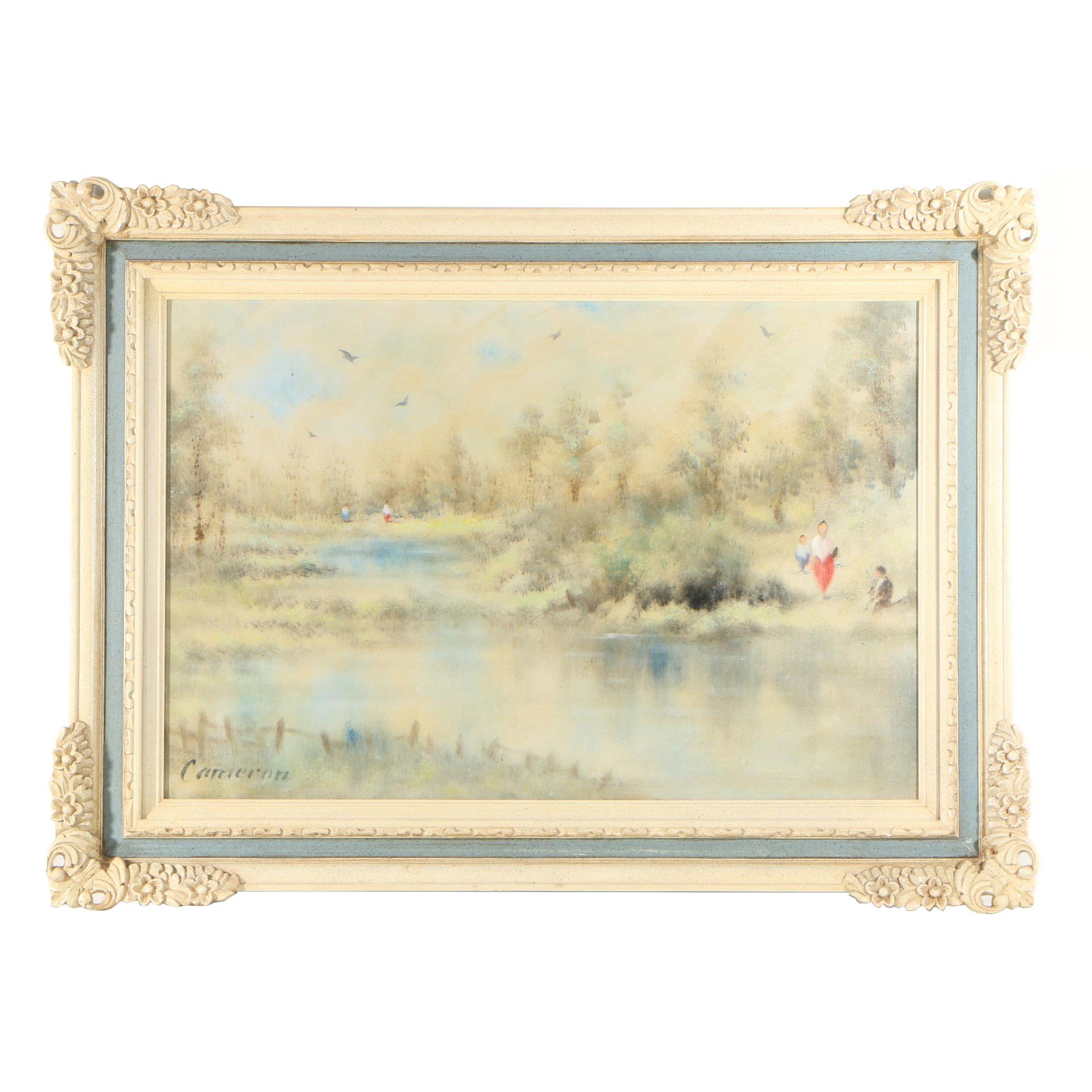 Cameron Landscape Oil Painting