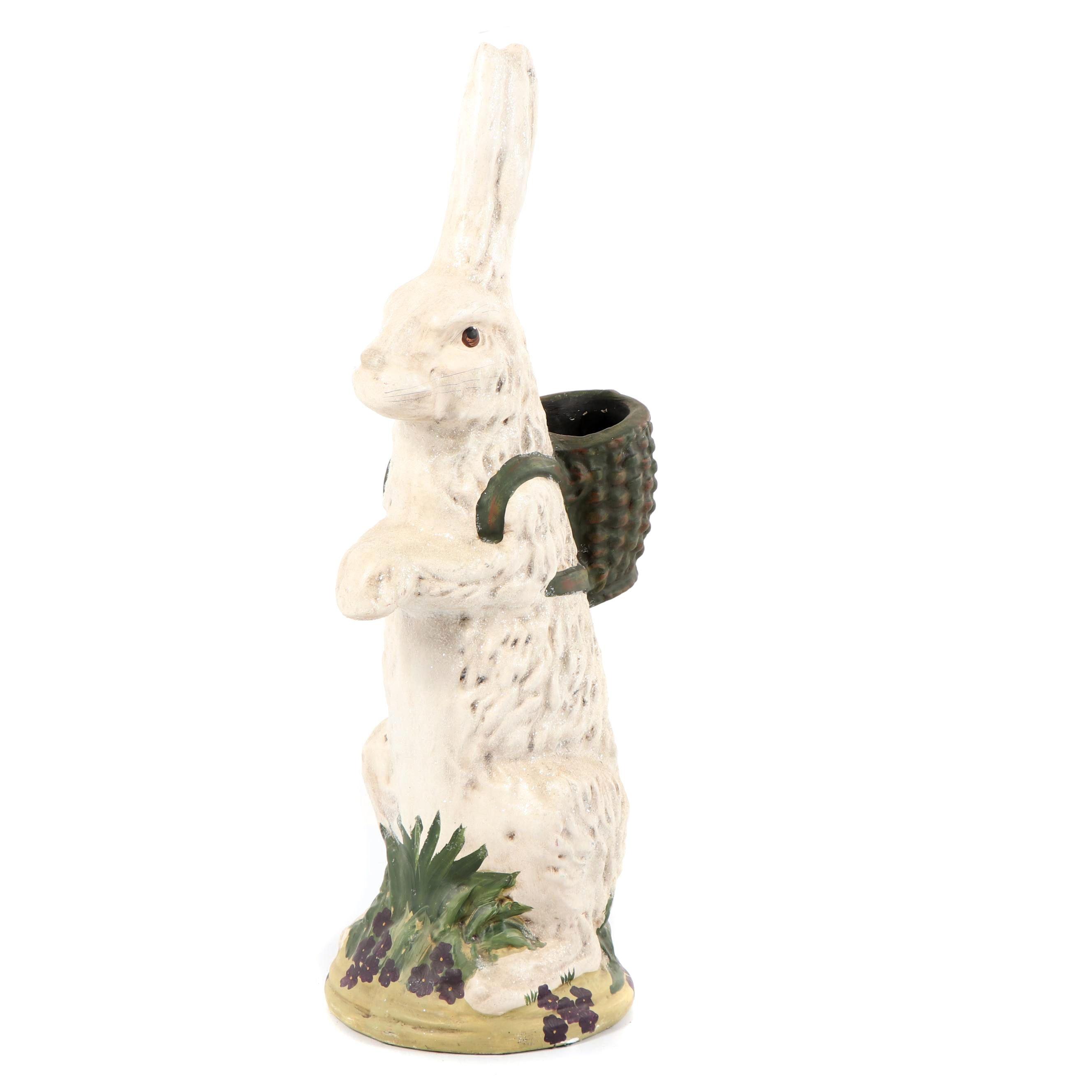 Ceramic Rabbit Planter