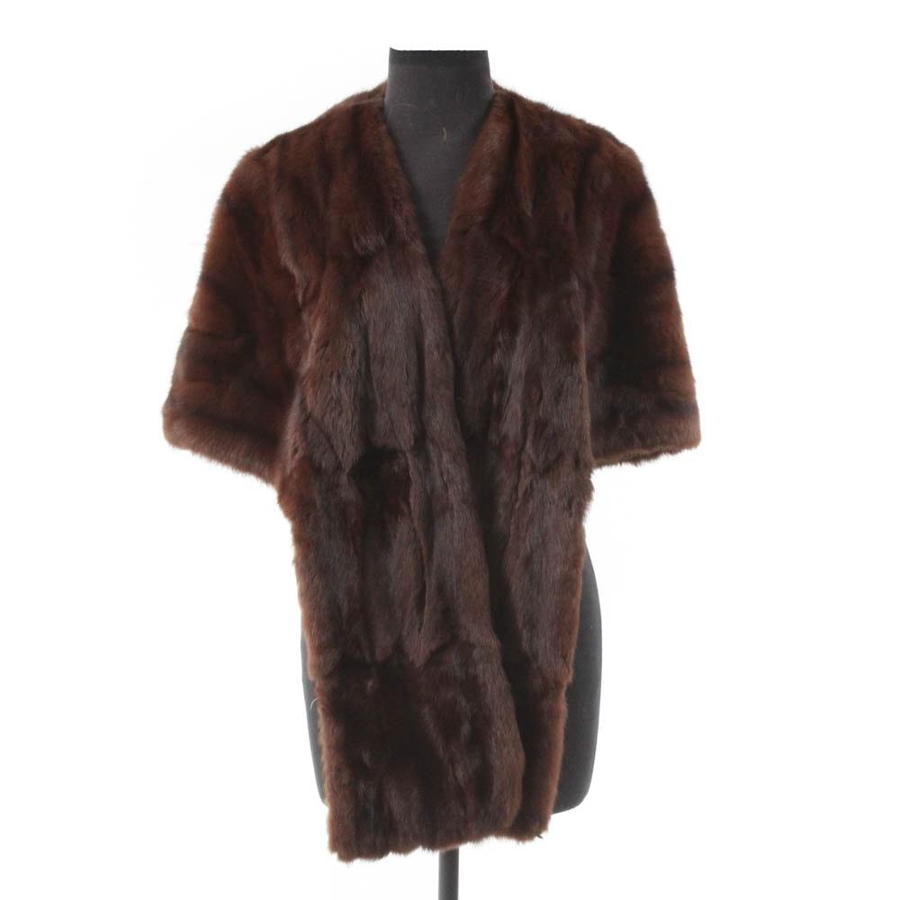 Potsky's Sheared Beaver Fur Stole