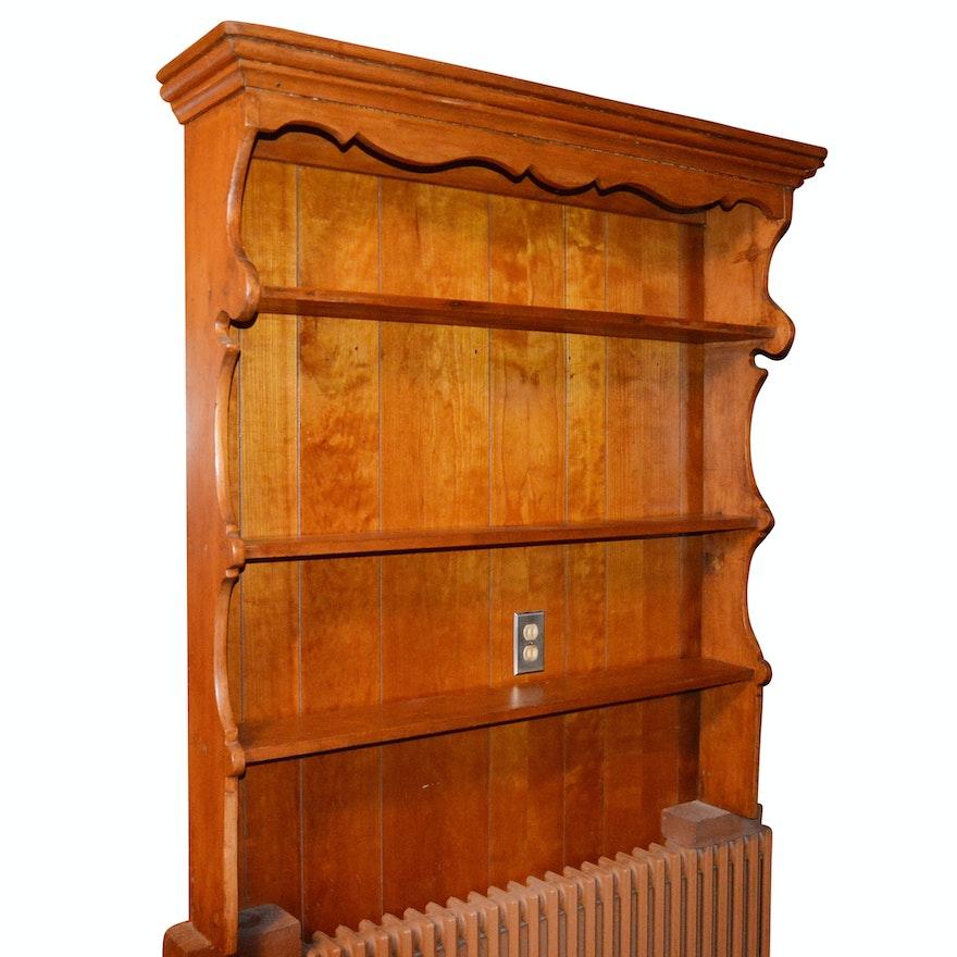 Superb Antique Pine Plate Shelf Download Free Architecture Designs Remcamadebymaigaardcom