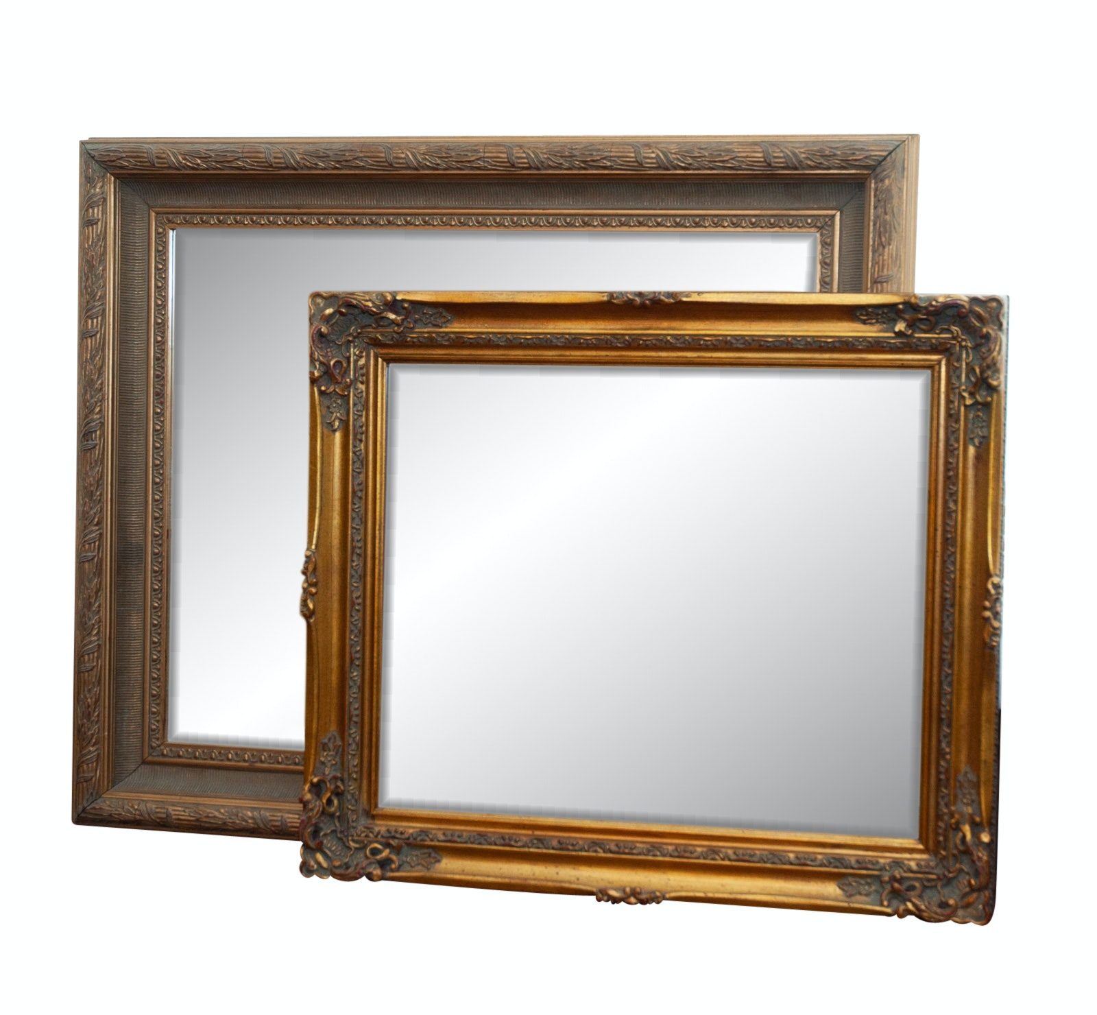 Composite Gilt Wall Mirrors