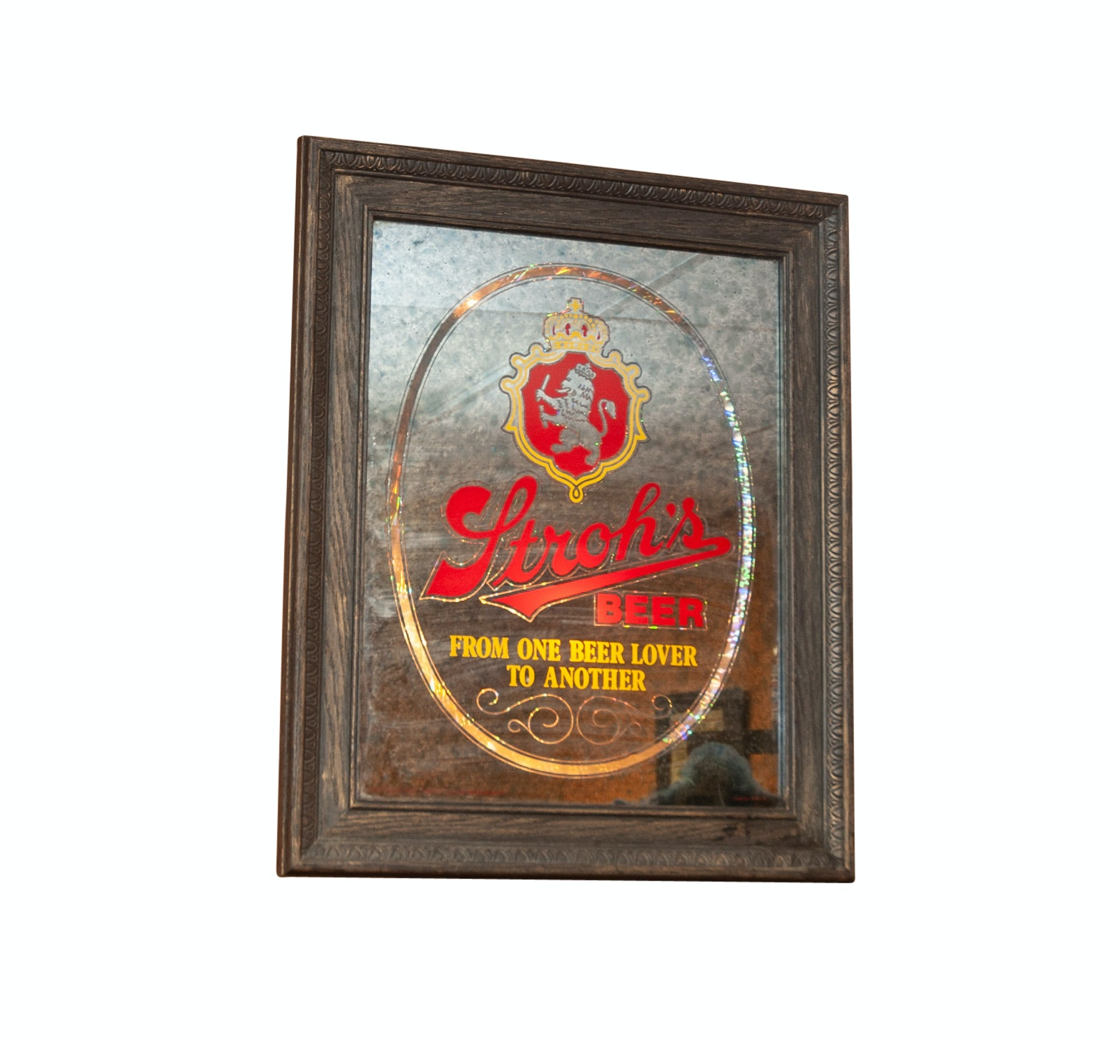 Vintage Stroh's Illuminated Beer Sign