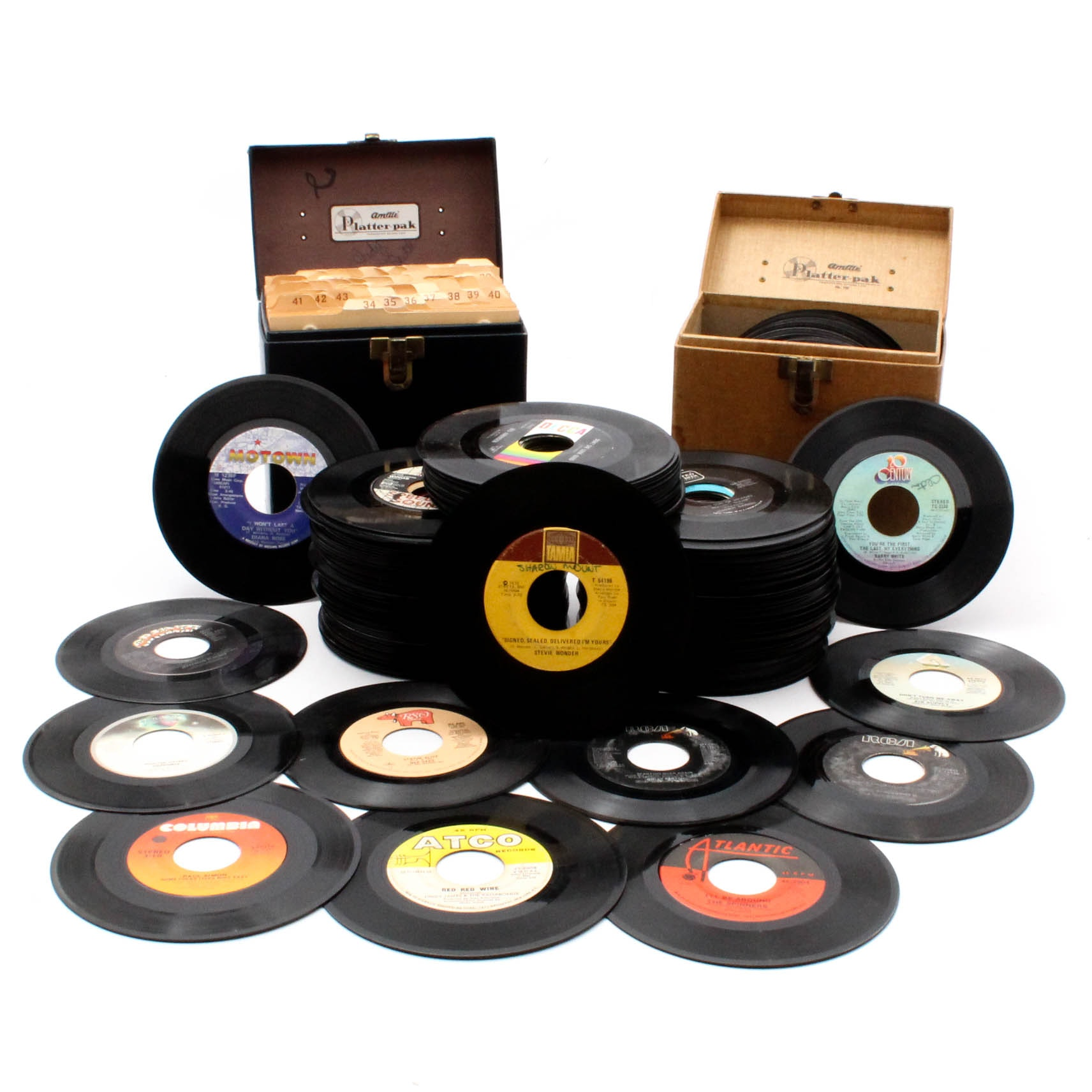 Vinyl Records Featuring Diana Ross, Stevie Wonder, Paul Simon and More