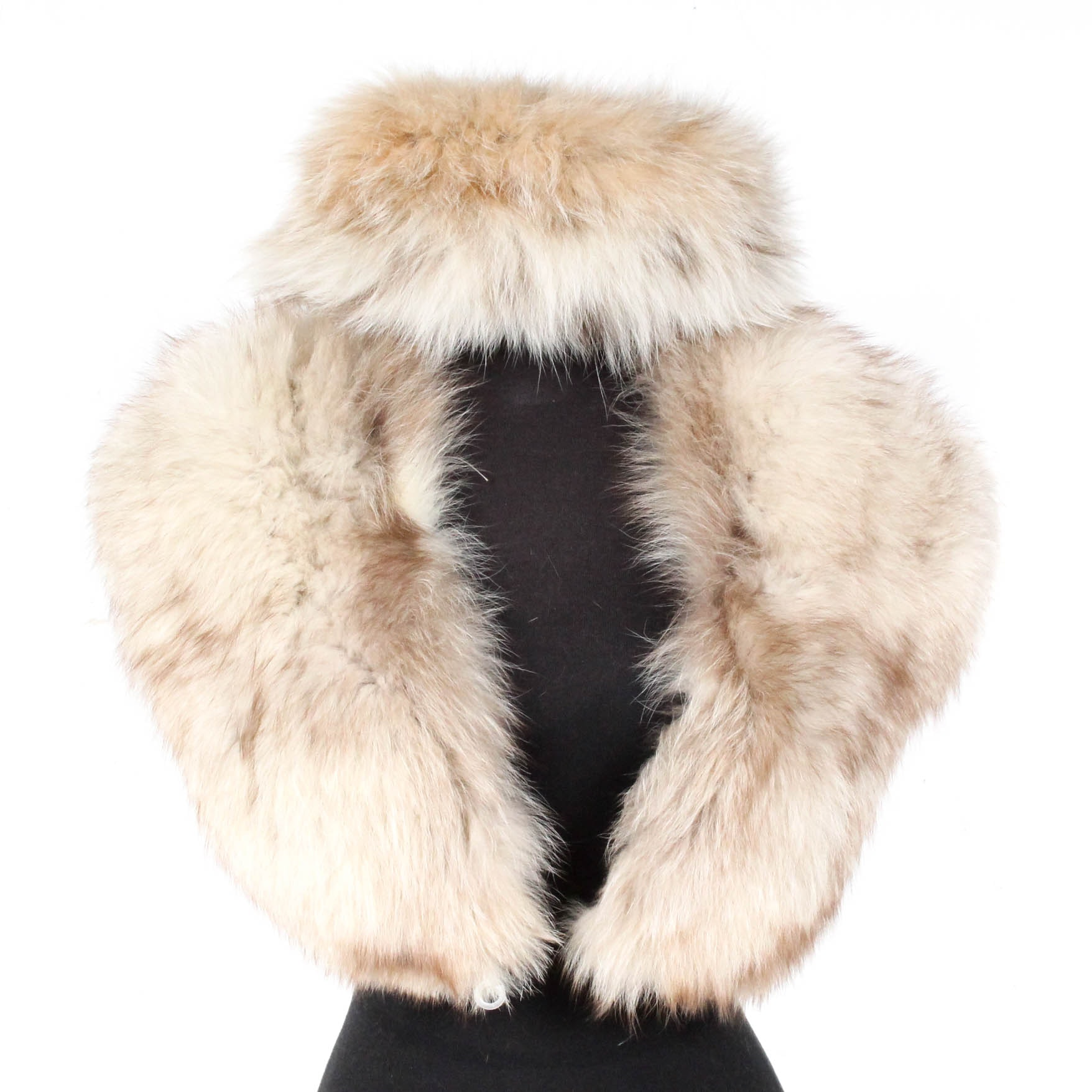Fox Fur Hat and Collar