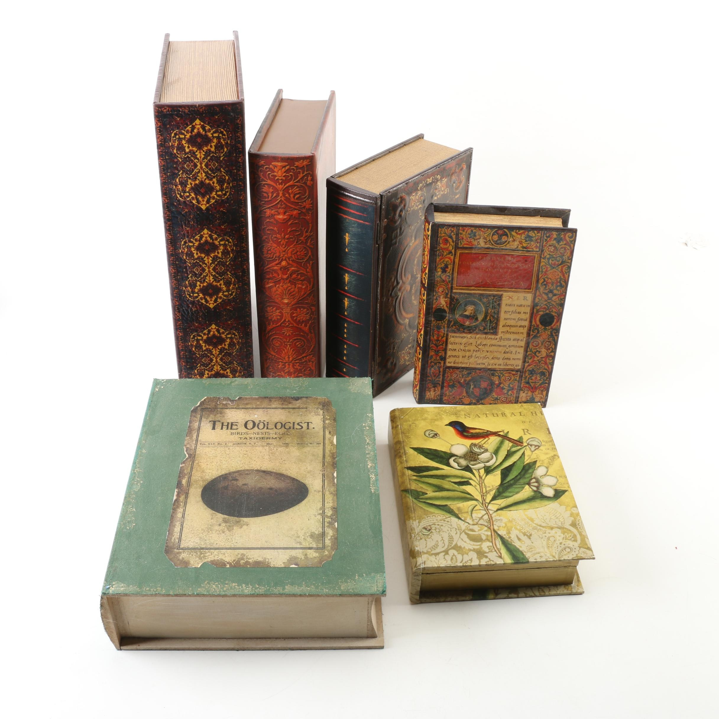 Decorative Book Shaped Storage Boxes