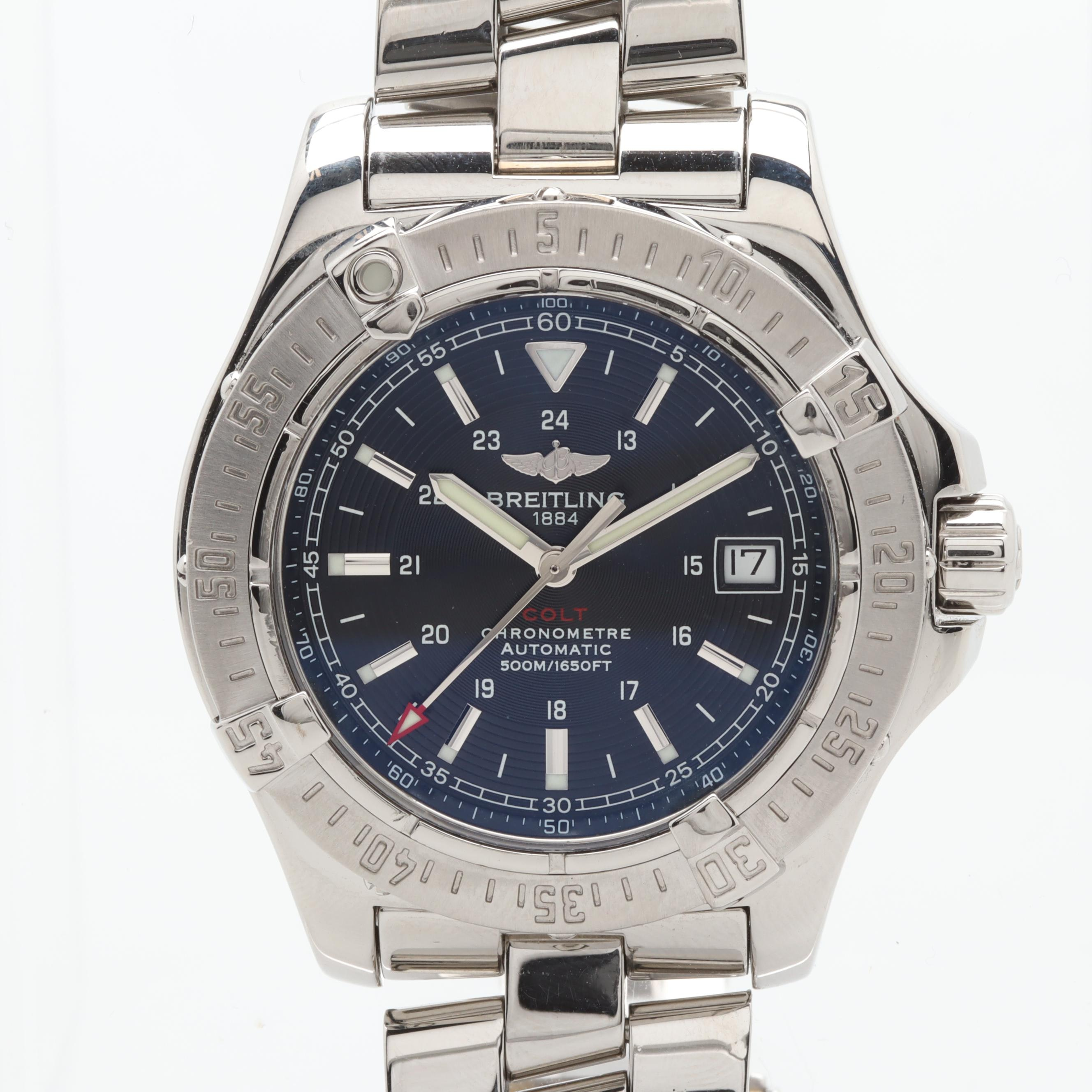 Breitling Colt 500m Stainless Steel Automatic Wristwatch