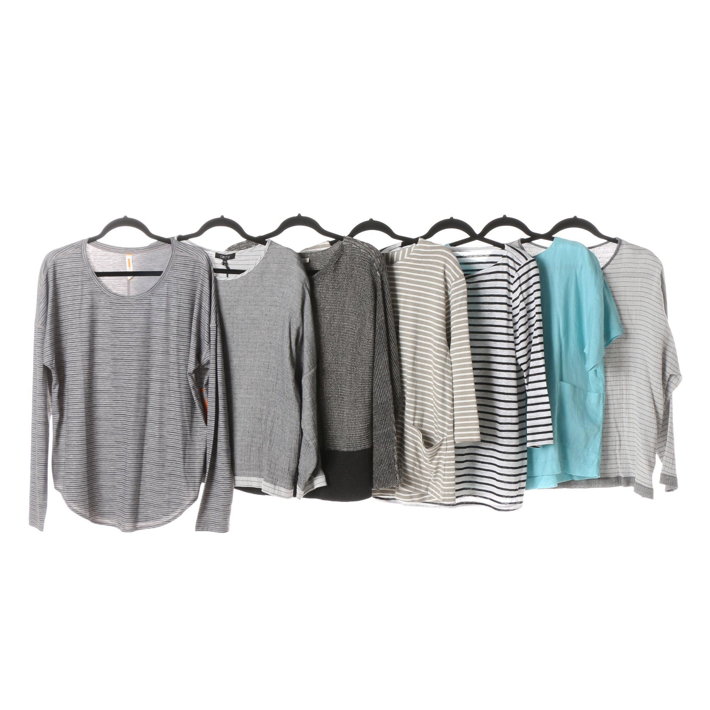 Women's Eileen Fisher, Two Danes, Comfy USA and Lucy Tops