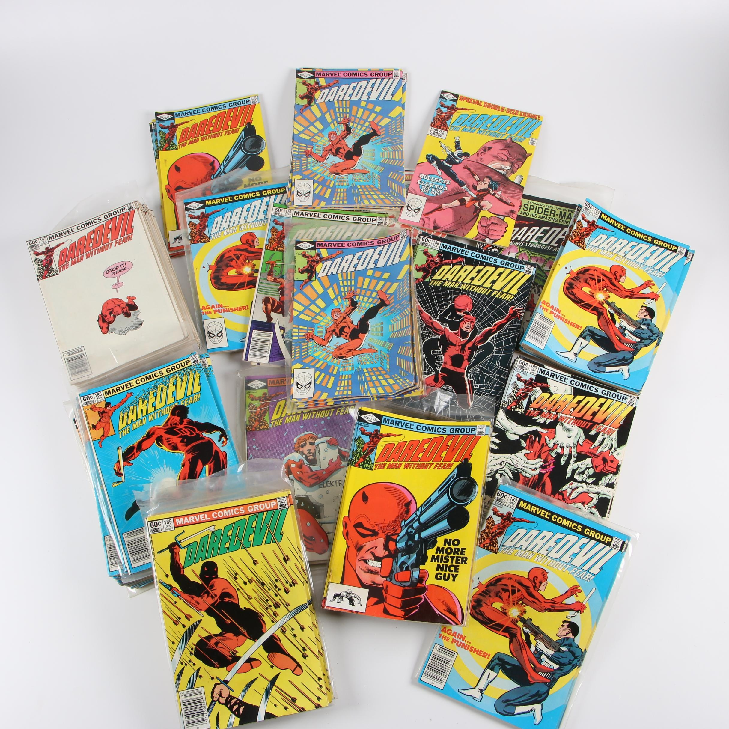 "Bronze Age ""Daredevil"" Comic Books"