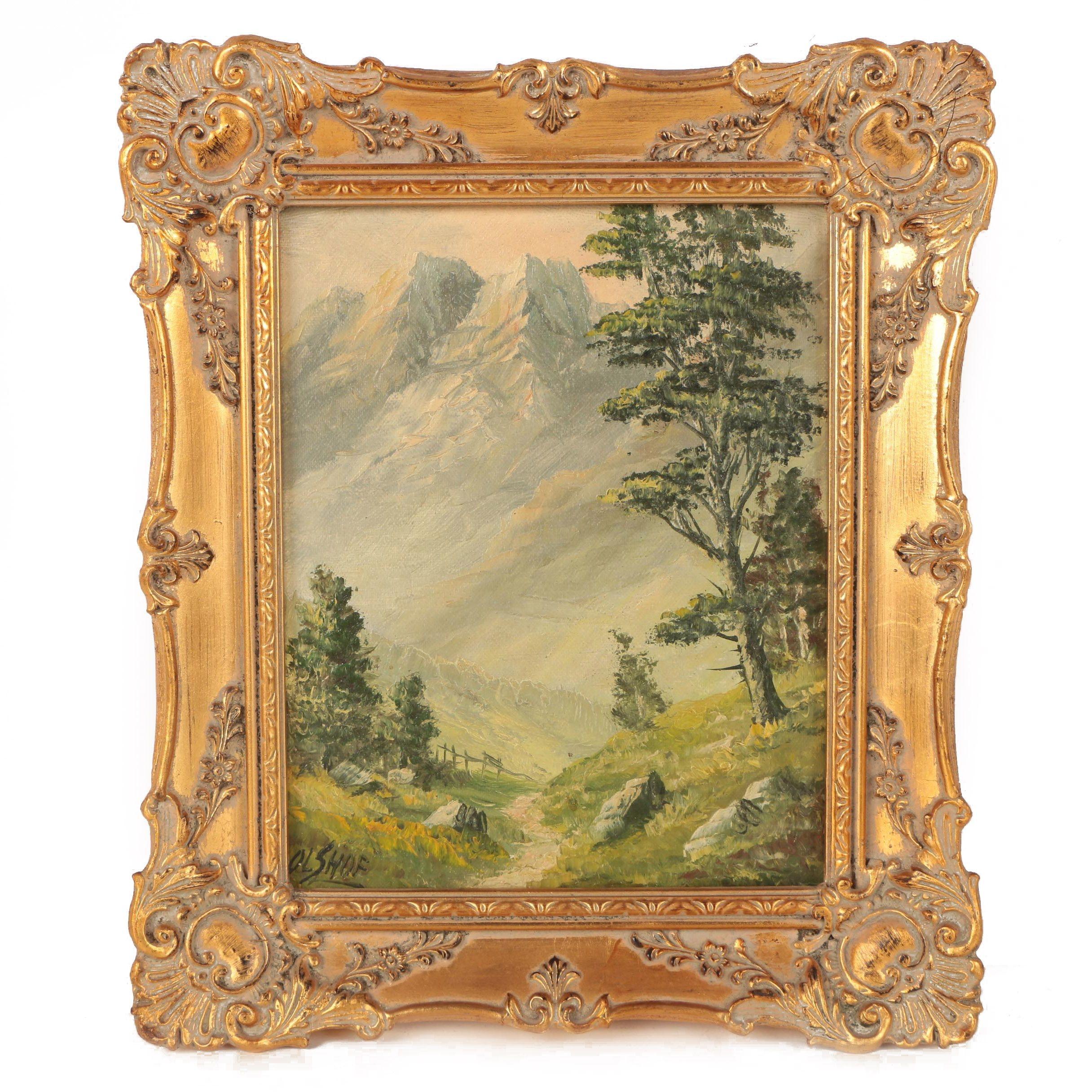 Olshof Landscape Oil Painting