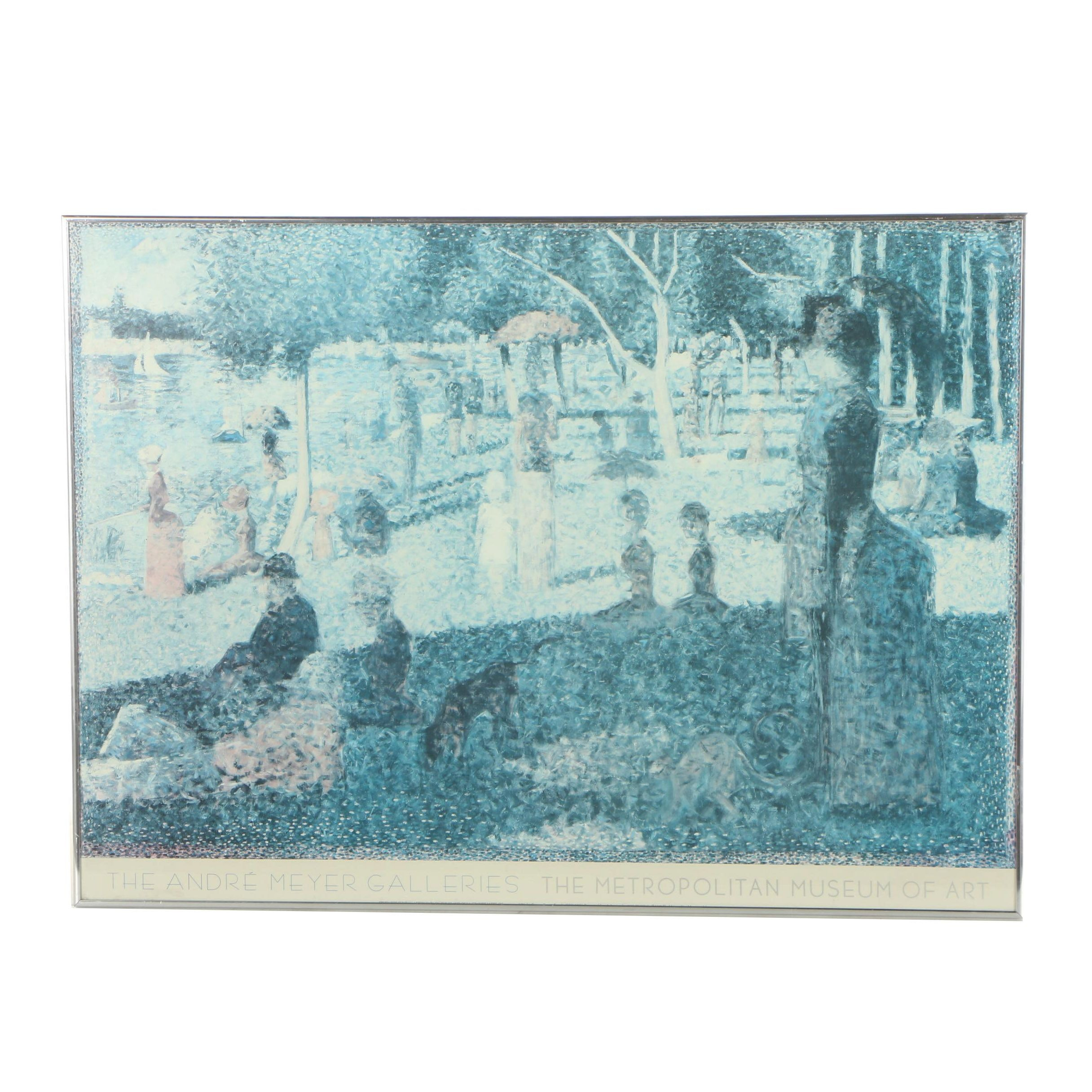 "Offset Lithograph Poster ""A Sunday on la Grande Jatte"""