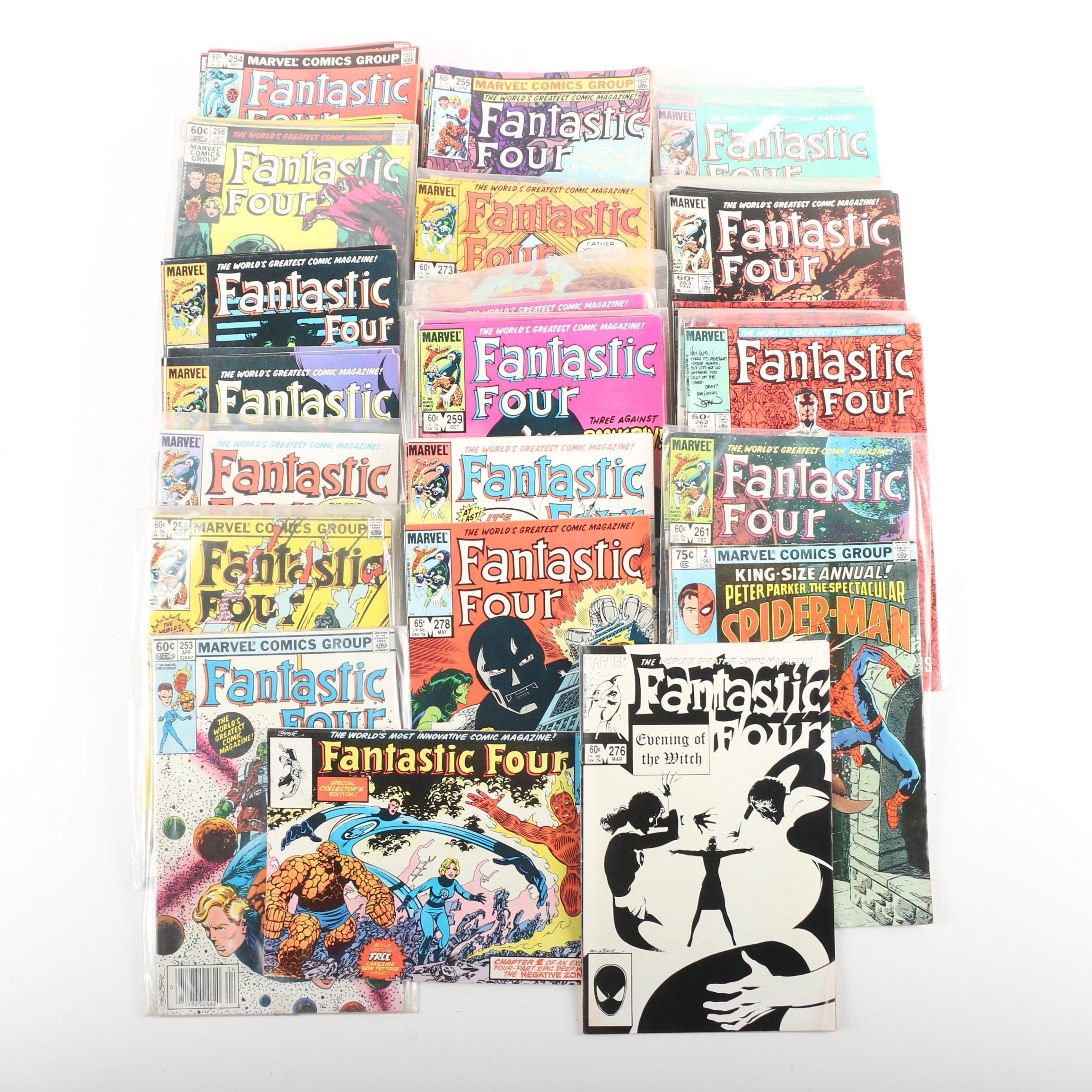 Bronze Age Marvel Comic Books featuring Fantastic Four