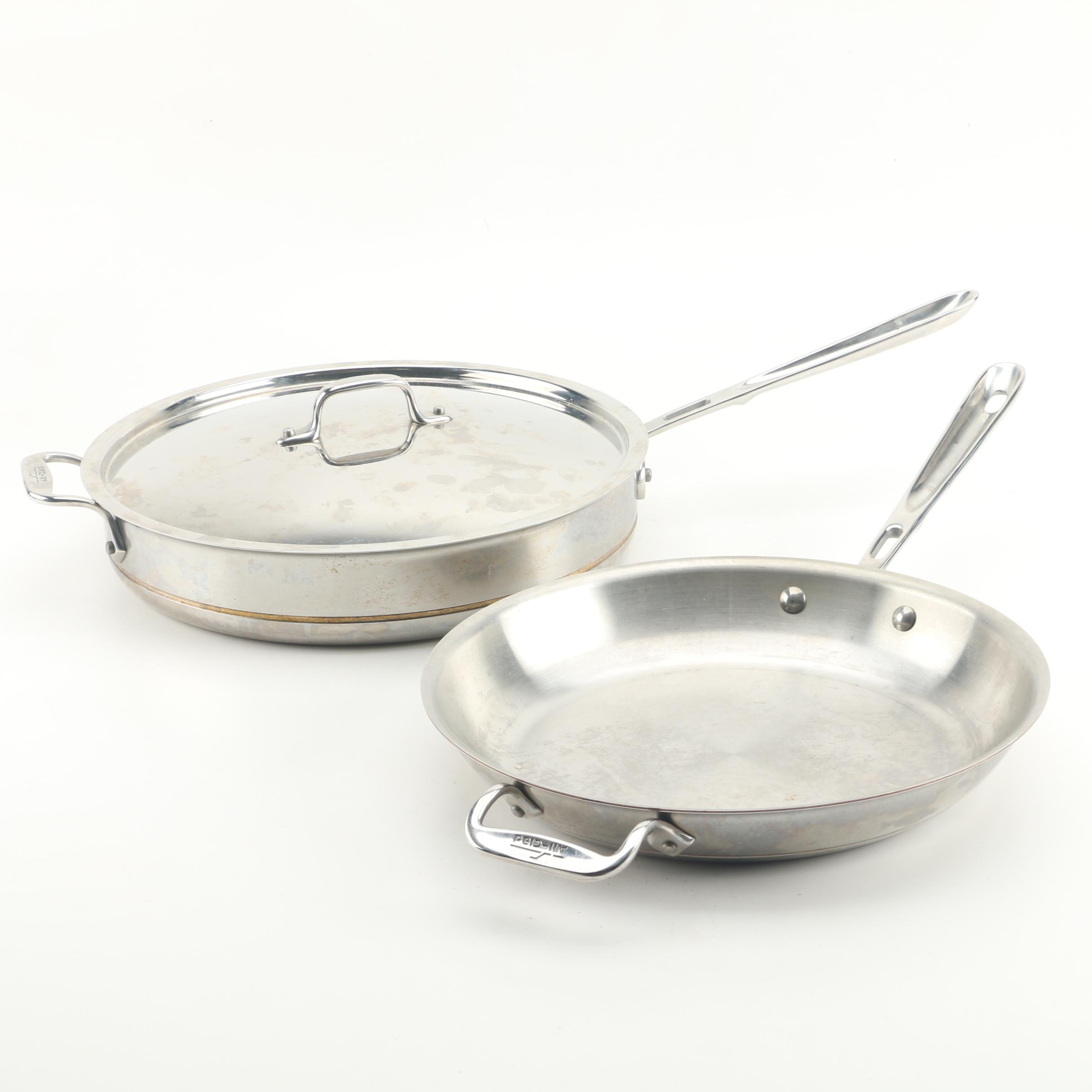 All-Clad Stainless Steel Sauce and Sauté Pans