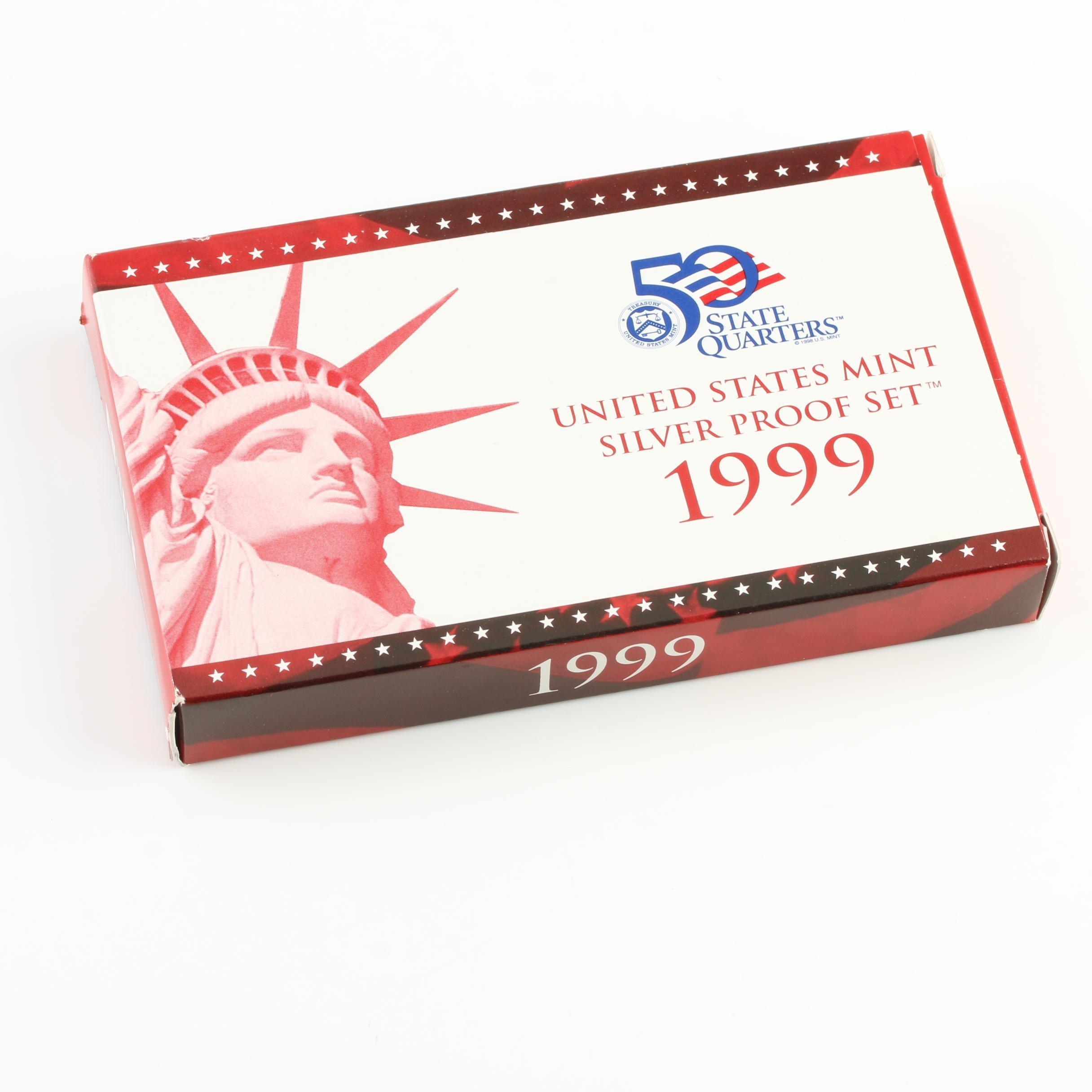 1999 U.S. Mint Silver Proof Set
