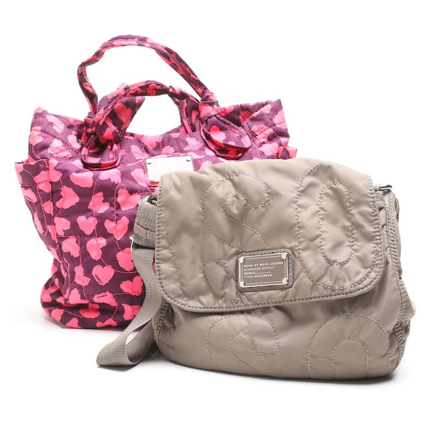 3fbbaf64b84 Marc By Marc Jacobs Quilted Nylon Handbags : EBTH