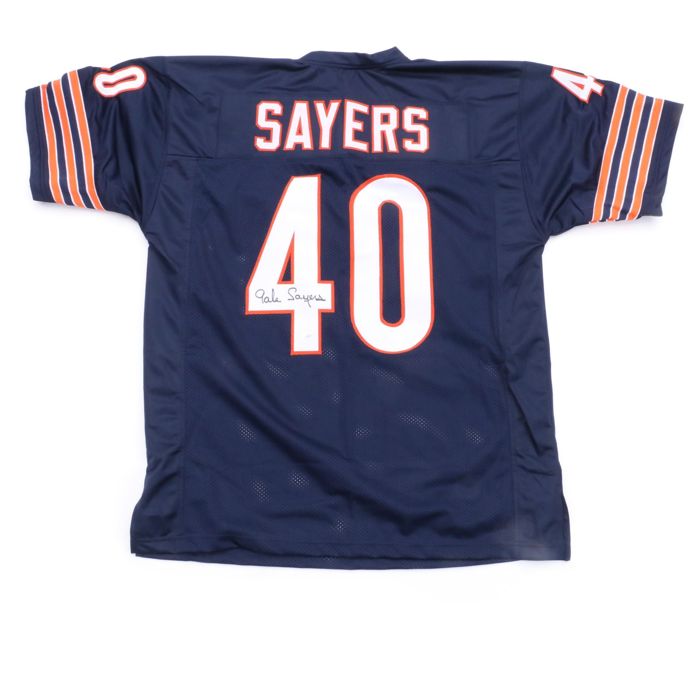 Gale Sayers Signed Jersey  COA