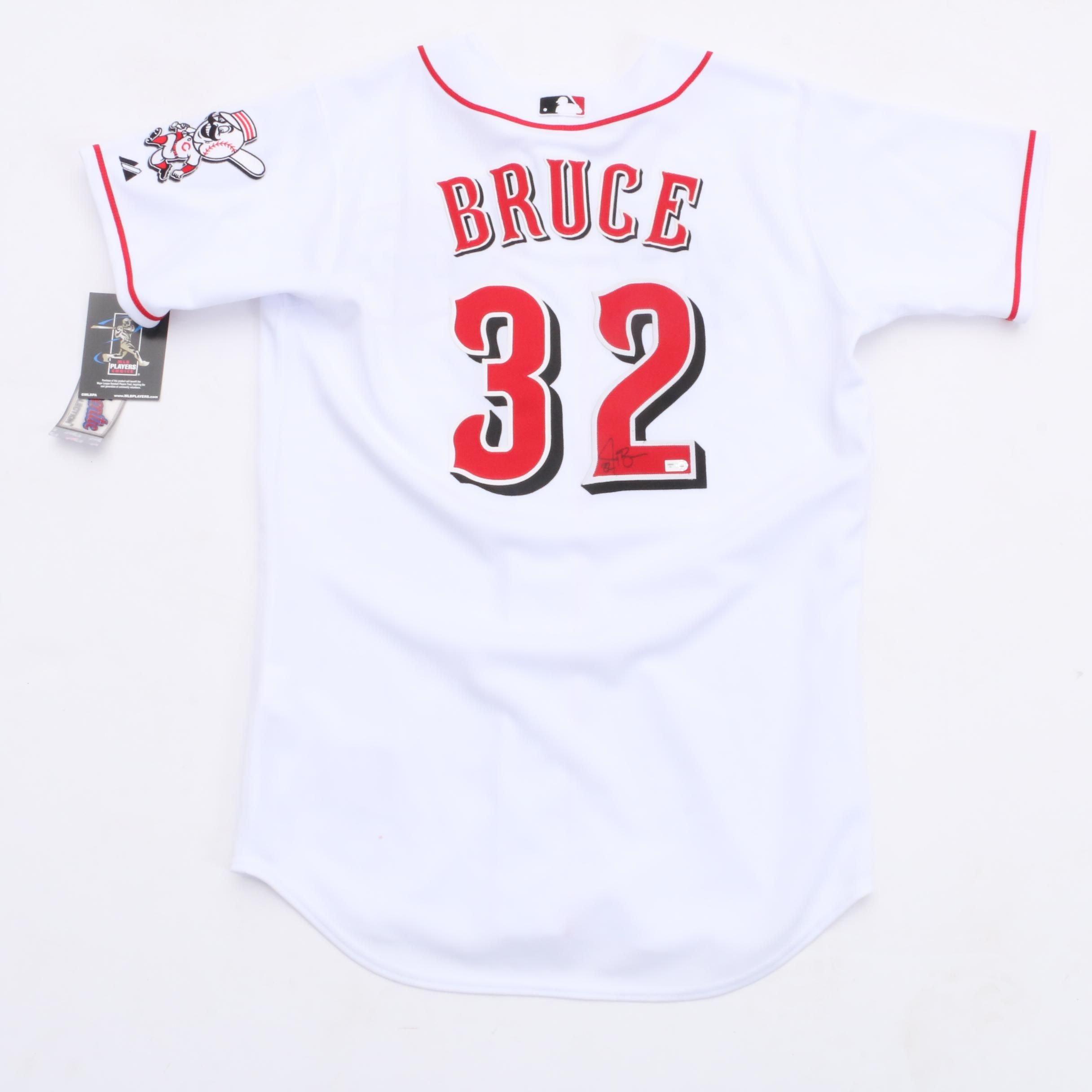 Jay Bruce Signed Jersey  COA