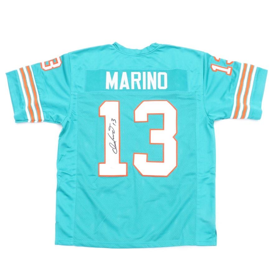 the best attitude b1e4a 7e10e Dan Marino Signed Dolphins Jersey COA