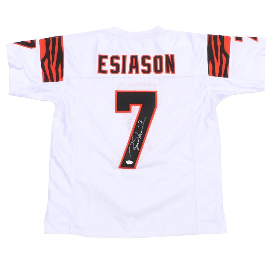 ad8d998f0 Boomer Esiason Signed Cincinnati Bengals NFL Jersey JSA   EBTH