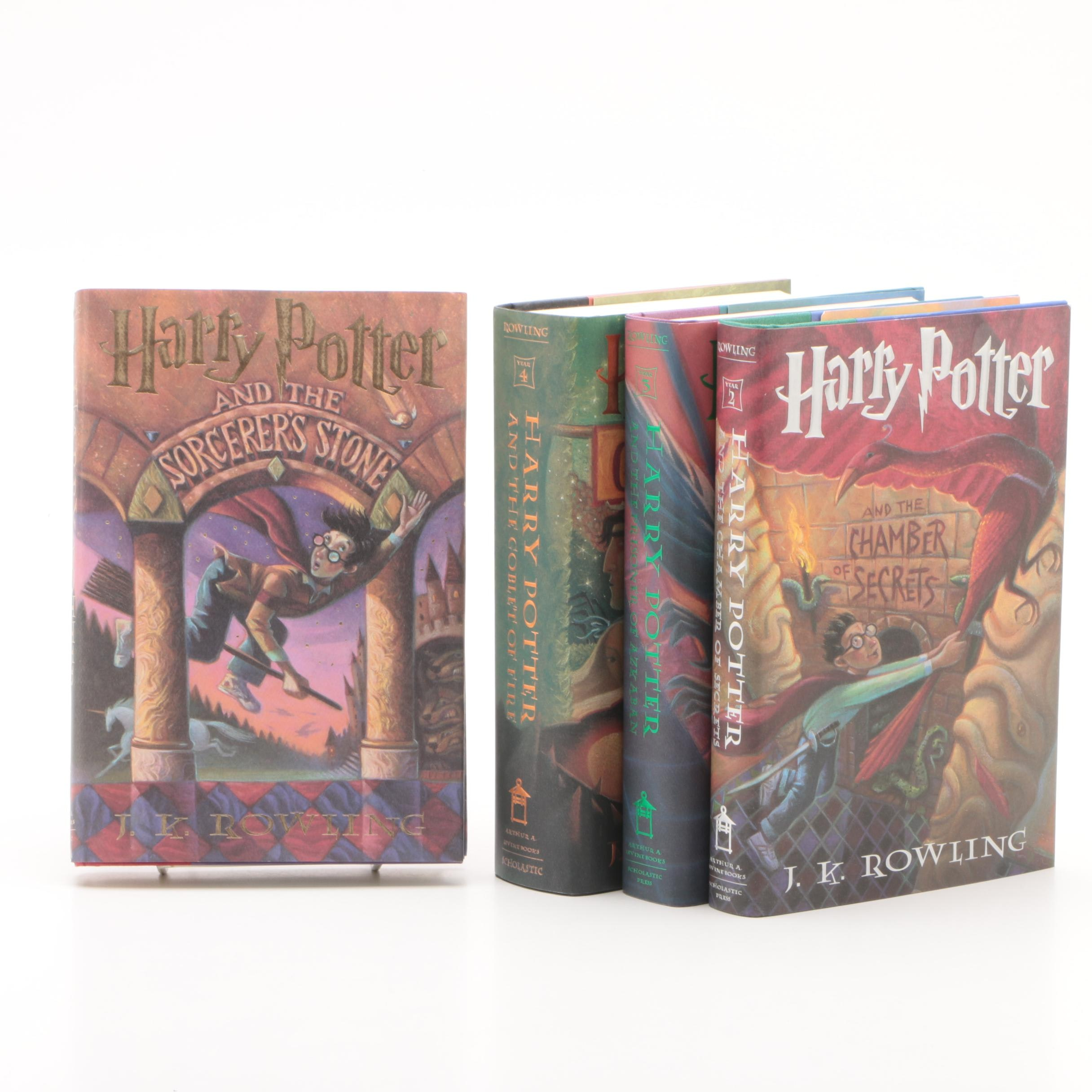 """Harry Potter"" Books by J.K. Rowling"