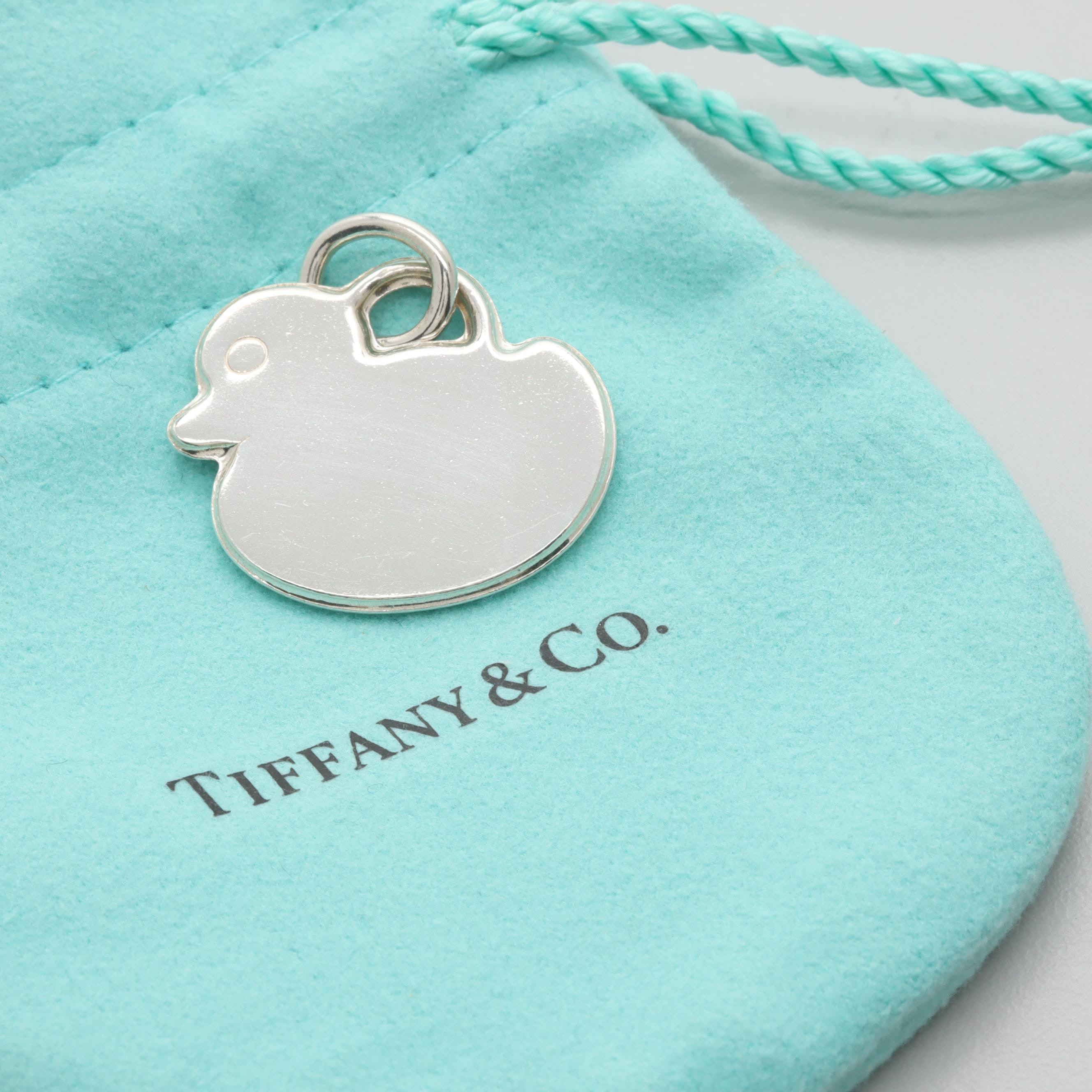 Tiffany & Co. Sterling Silver Duck Charm